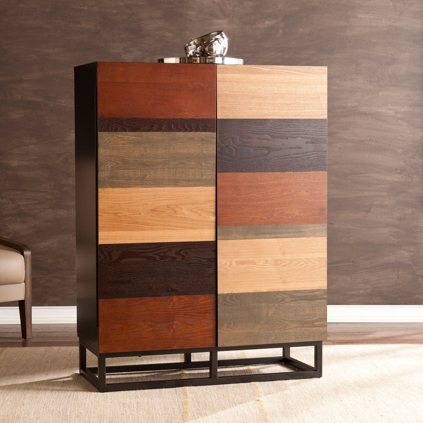 Cabinets For Home Bar: Wildon Home ® Medlin Bar Cabinet & Reviews