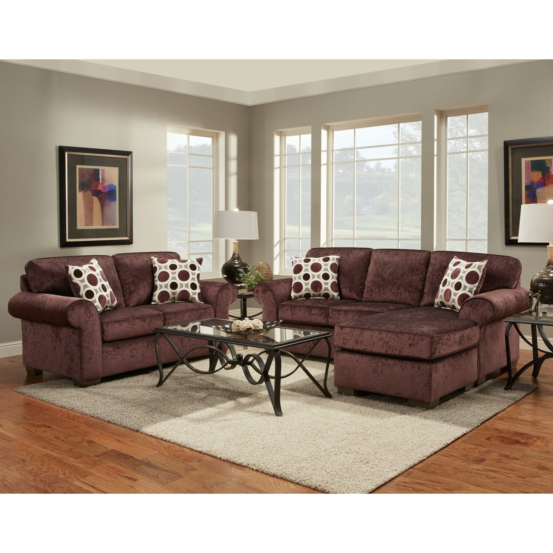 Wildon Home Chloe Living Room Collection