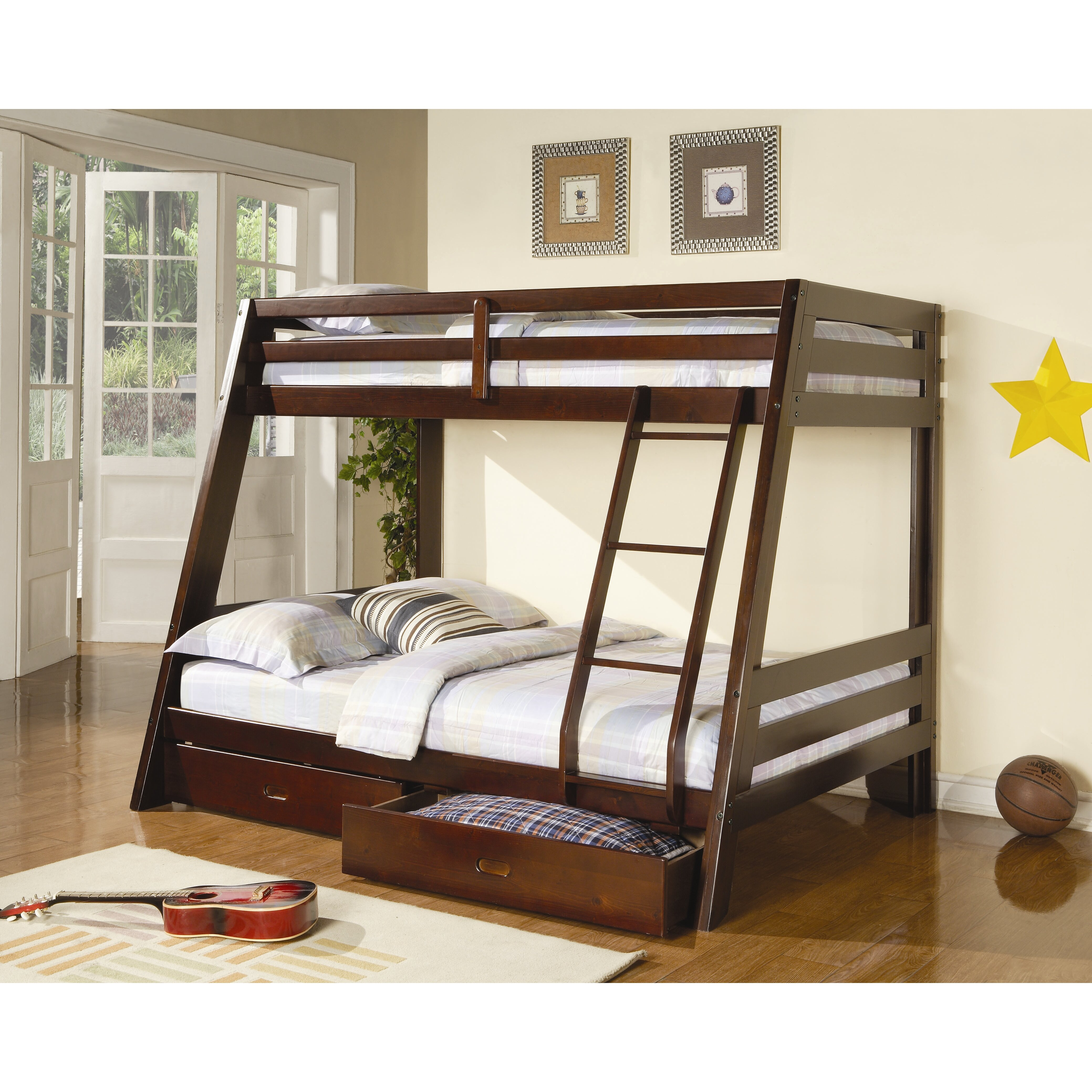 Best 25 Twin Full Bunk Bed Ideas On Pinterest: Wildon Home ® Mullin Twin Over Full Bunk Bed With Storage
