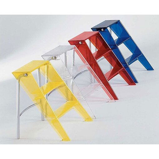 Kartell 3 Step Plastic Upper Step Stool Amp Reviews Wayfair