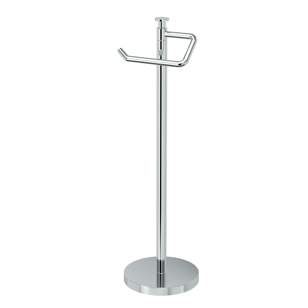 Free standing toilet paper holder with storage - Free Standing Toilet Paper Holder
