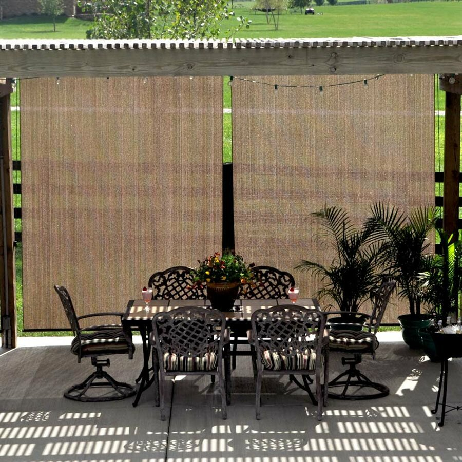 Pergola curtains outdoor - Uv Block Outdoor Single Curtain Panel