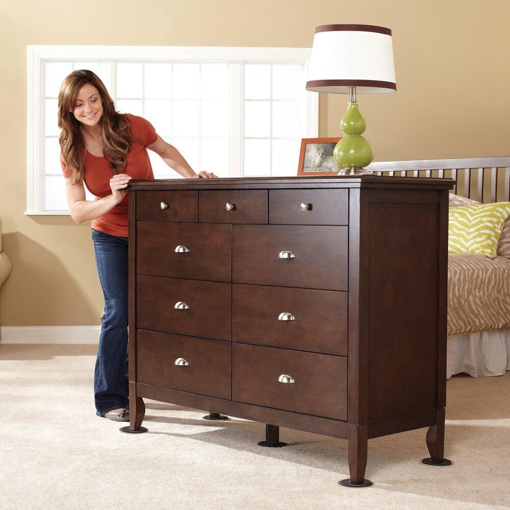 Waxmanconsumergroup Super 8 Piece Reusable Furniture Movers Sliders Set Reviews Wayfair