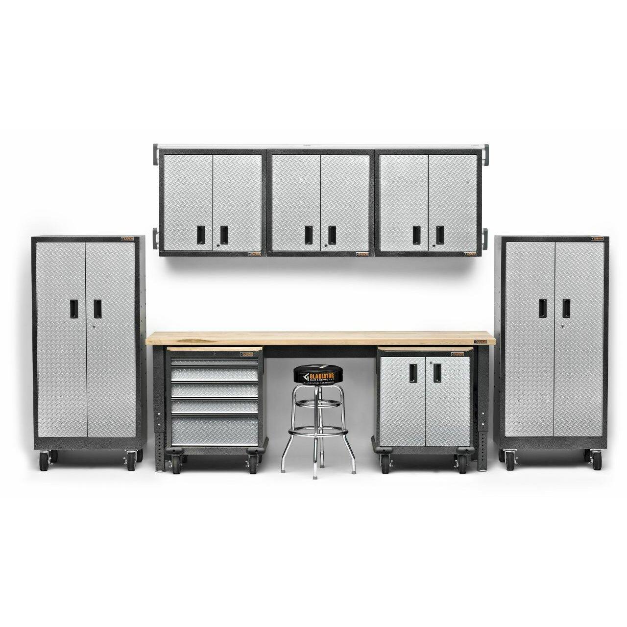 Premier Garage Cabinets #21: Gladiator 27u0026amp;quot; Maple Top For Premier Garage Cabinets