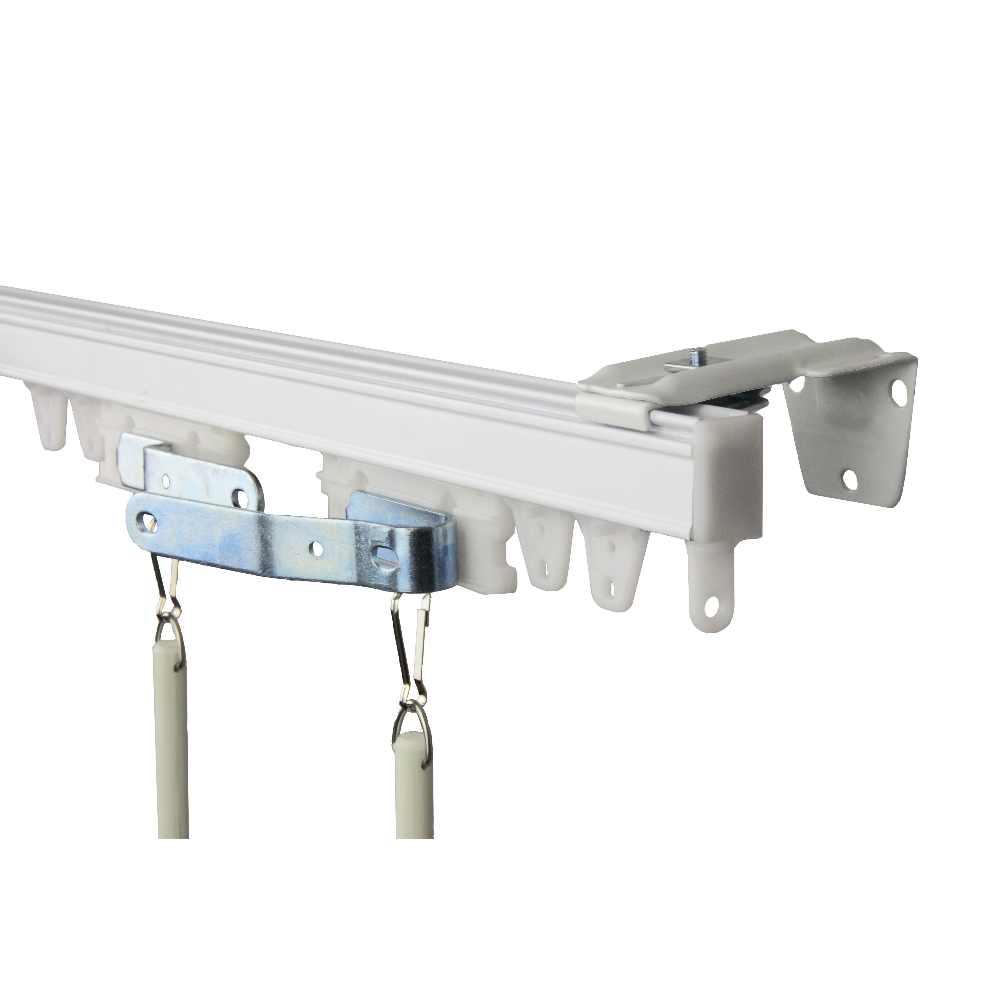 Curtain track cover - Quick View Commercial Curtain Track Kit
