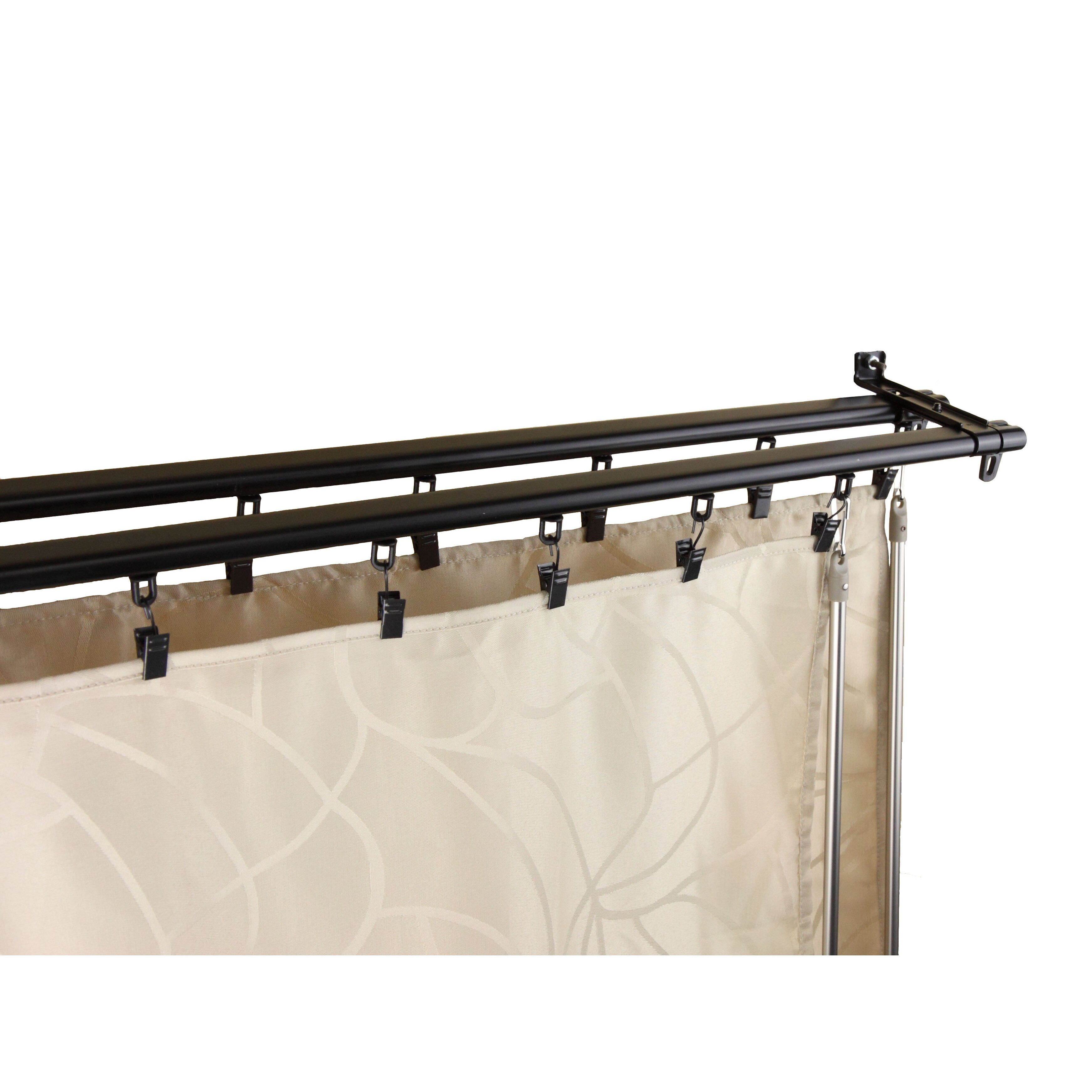 Shower Curtain Track Ceiling Mount Shower Curtain Track