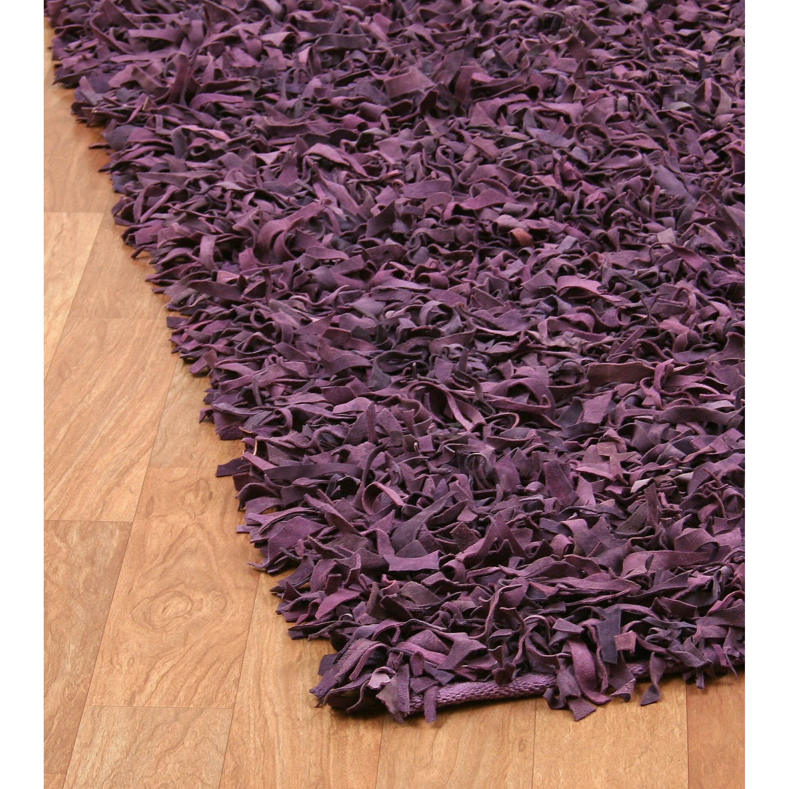 Leather Shag Area Rugs leather area rug | roselawnlutheran