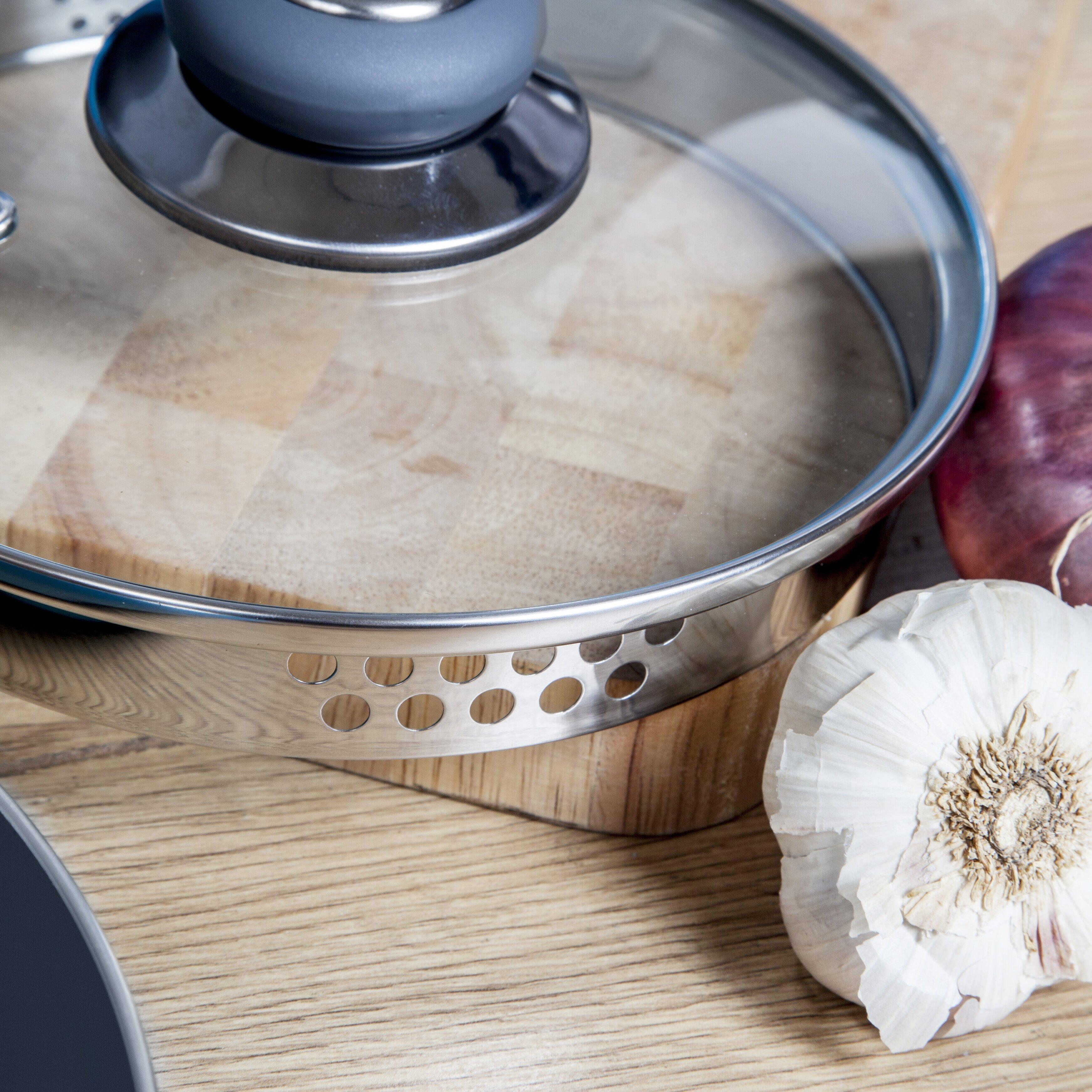 Morphy Richards Pots And Pans: Morphy Richards 5-Piece Non-Stick Pouring Cookware Set