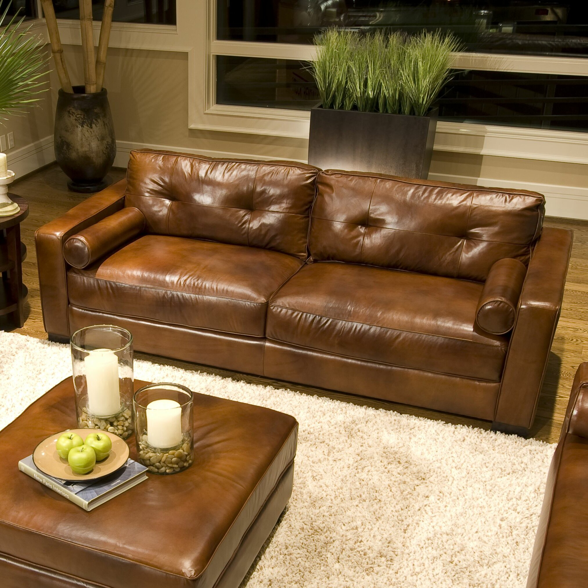 Fix Slippery Leather Sofa