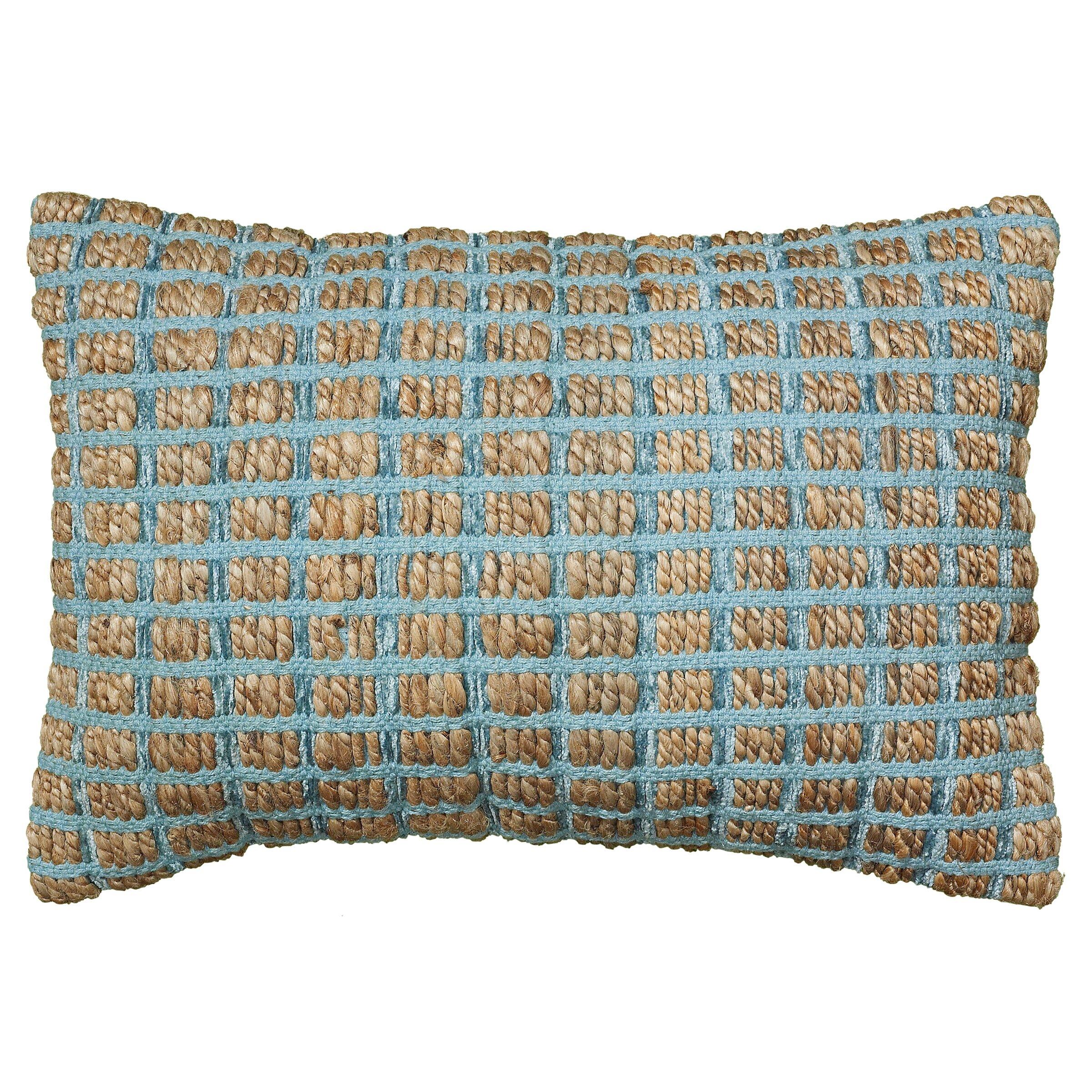 LR Resources Natural Fiber Accent Cotton Throw Pillow & Reviews ... - LR Resources Natural Fiber Accent Cotton Throw Pillow