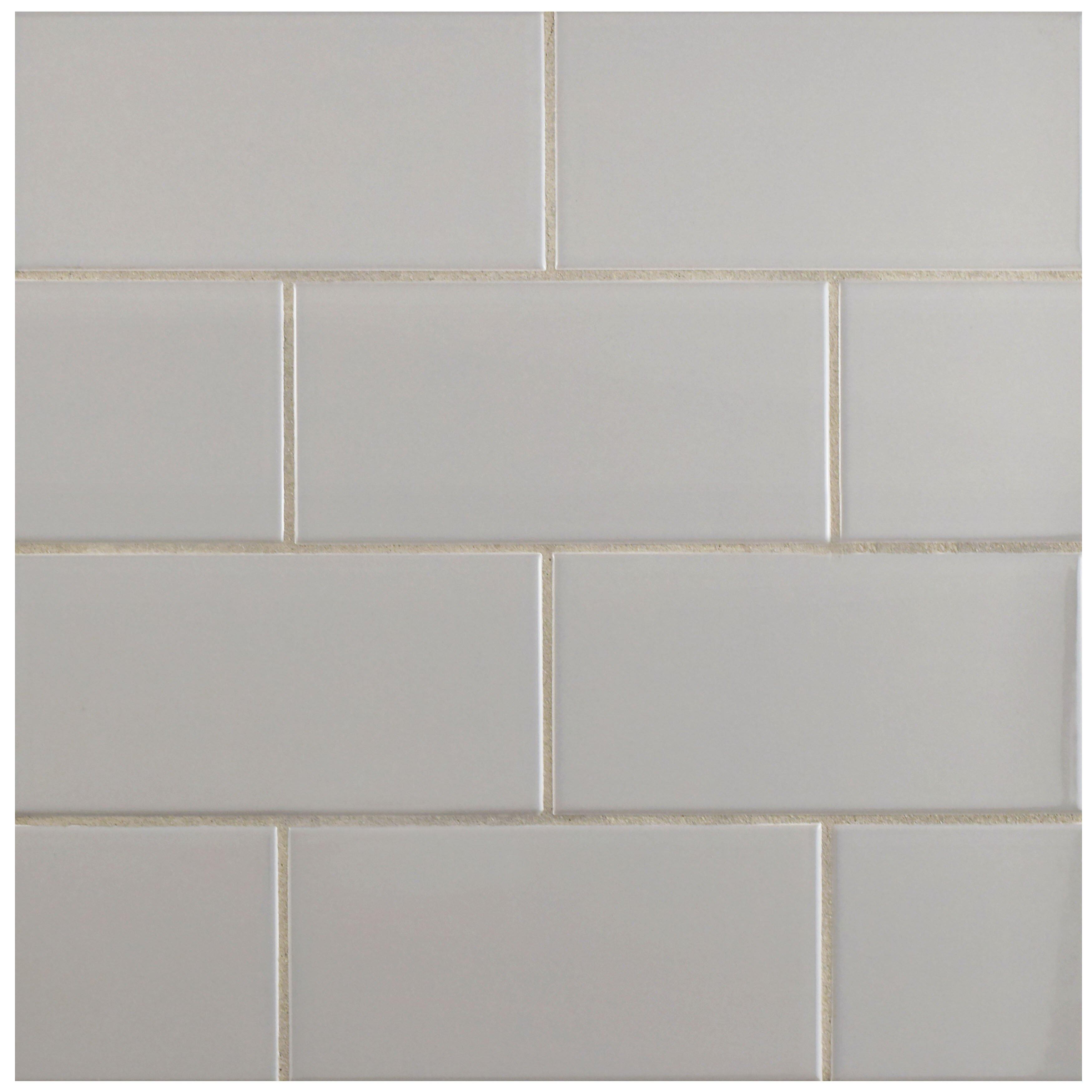 Elitetile Prospect 3 X 6 Ceramic Subway Tile In Gray Reviews Wayfair