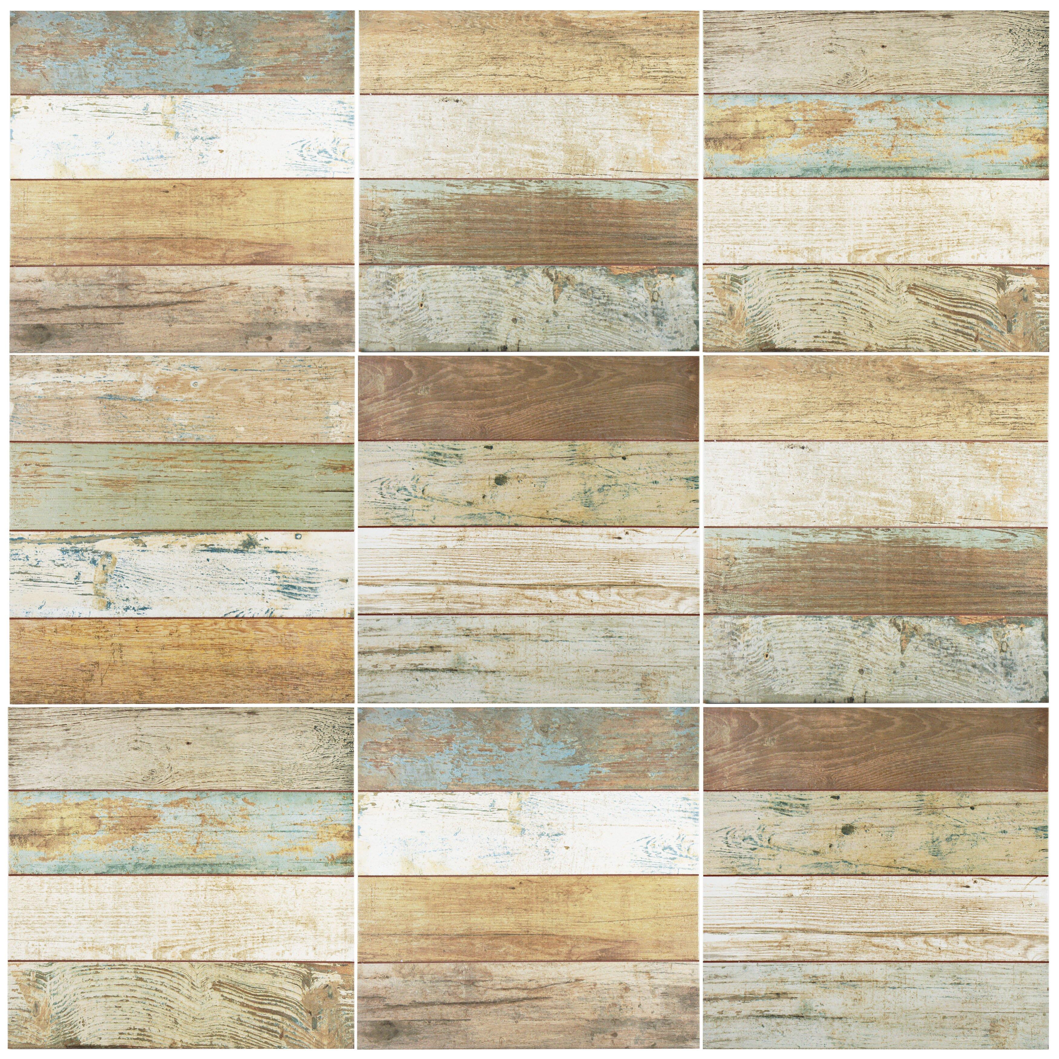 Elitetile Royalty 17 75 Quot X 17 75 Quot Ceramic Wood Look Tile