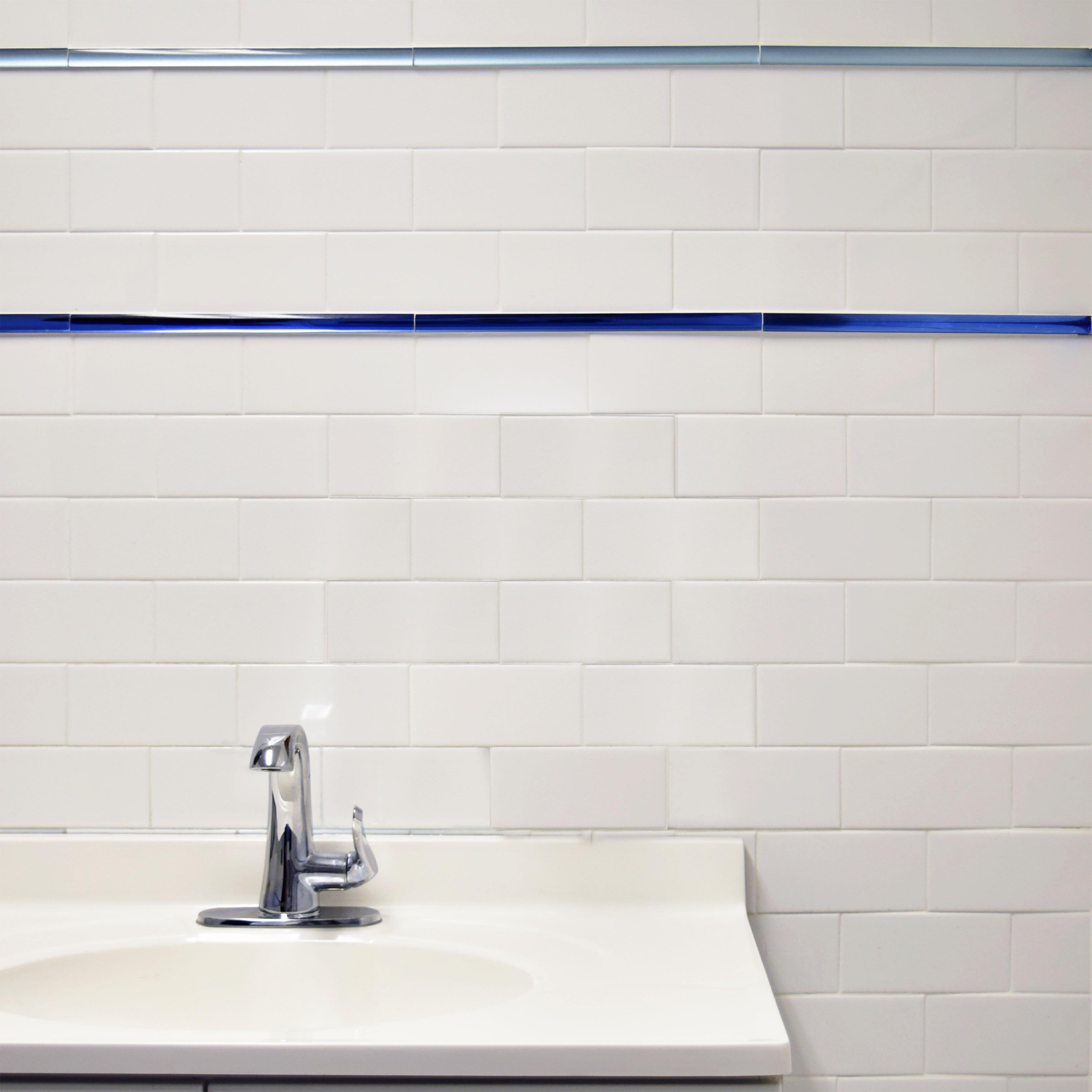 Elitetile Prospect 3 X 6 Ceramic Subway Tile In Glazed White Reviews Wayfair