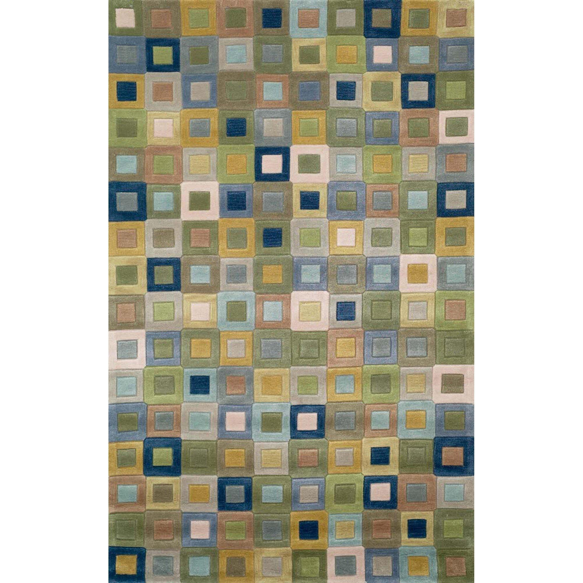 liora manne amalfi ocean square area rug - Square Area Rugs