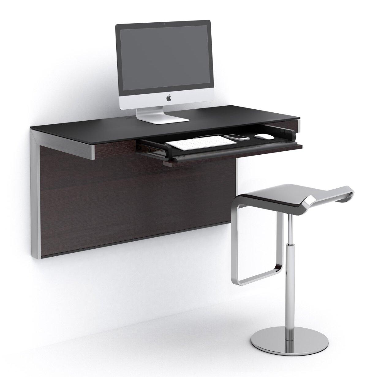 sequel wall mounted floating desk reviews allmodern. Black Bedroom Furniture Sets. Home Design Ideas