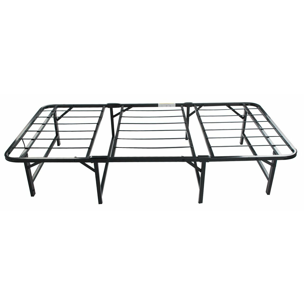 merax platform metal bed frame