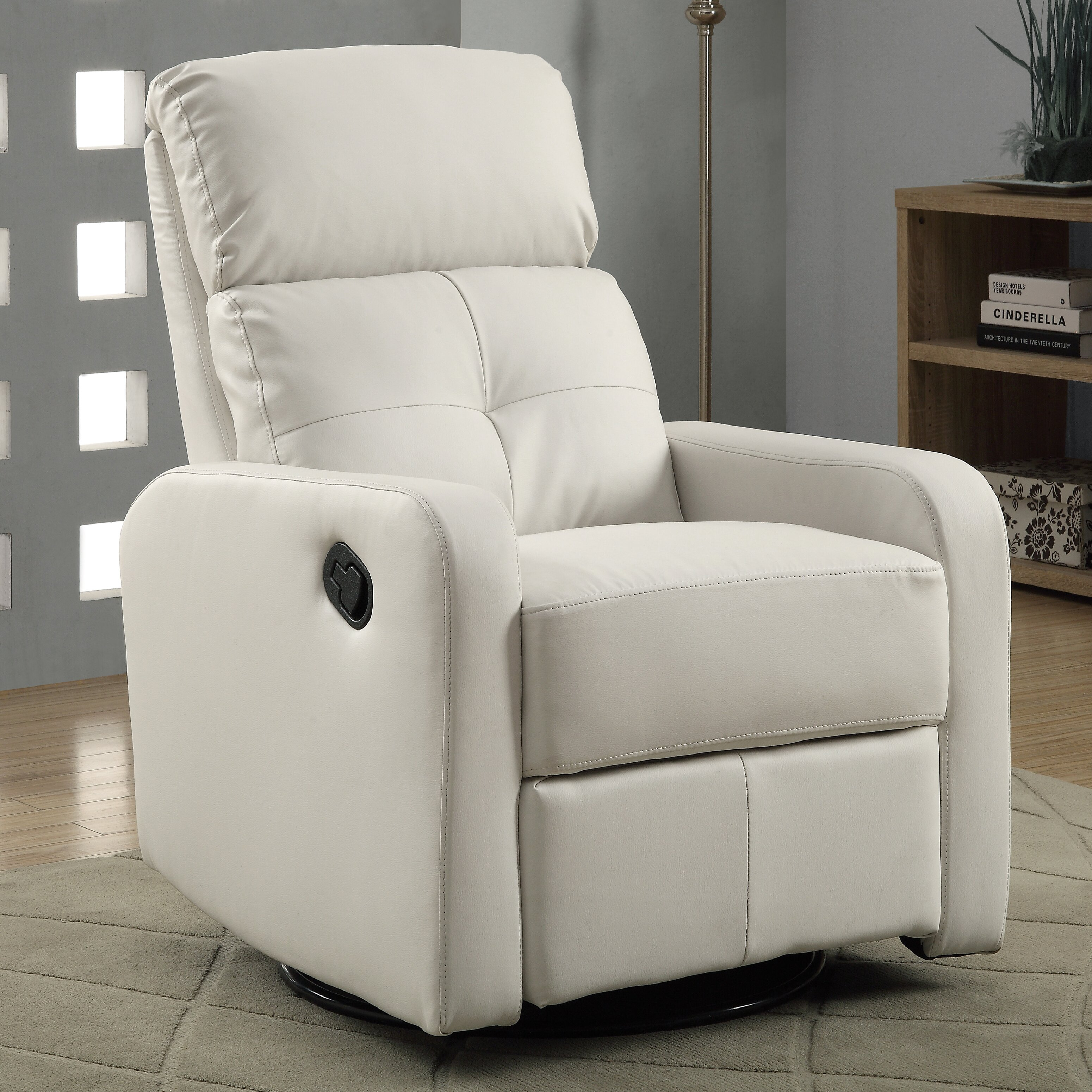 Swivel Rocker Glider Recliners Youll Love – Leather Swivel Glider Chair