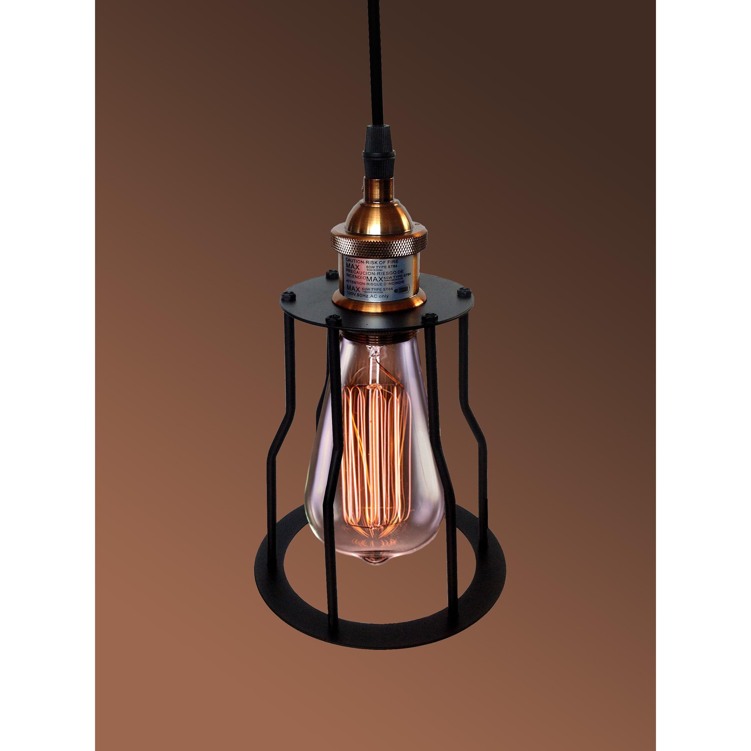 Height Adjustable Louisanne Pendant Light: Warehouse Of Tiffany Dinah Adjustable Height 1-Light Mini