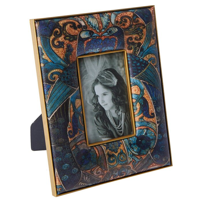 ab home peacock picture frame