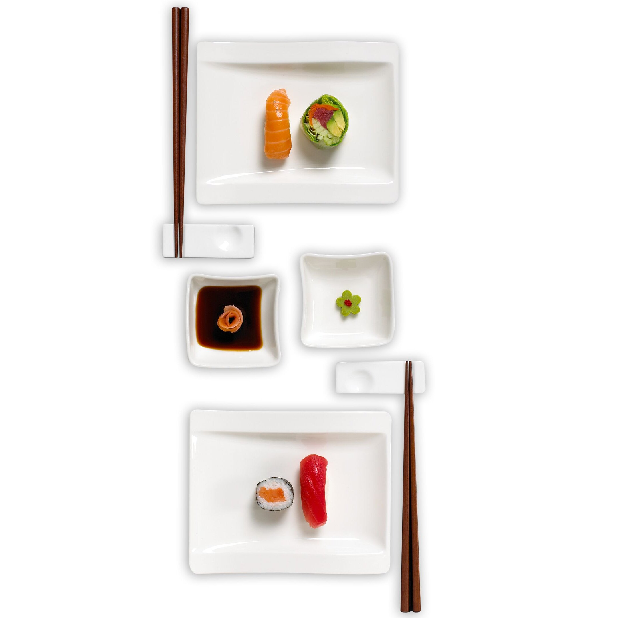 Villeroy and boch new wave set - Villeroy Amp Boch New Wave Sushi For Two 8 Piece Dinnerware Set