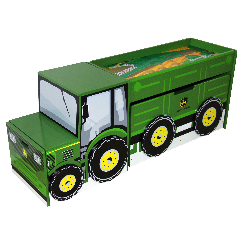 John deere kitchen decor - John Deere Tractor Toy Box Set Reviews Wayfair