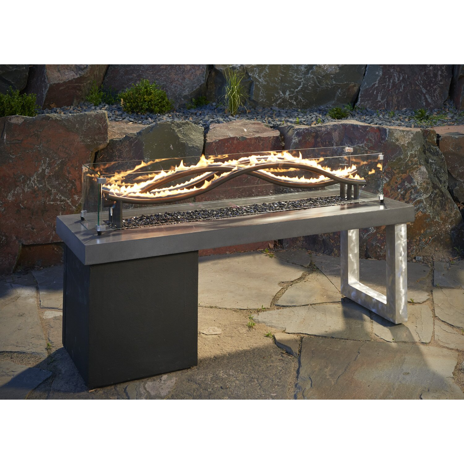 QUICK VIEW. Wave Propane Fire Pit - Natural Gas Outdoor Fireplaces & Fire Pits You'll Love Wayfair