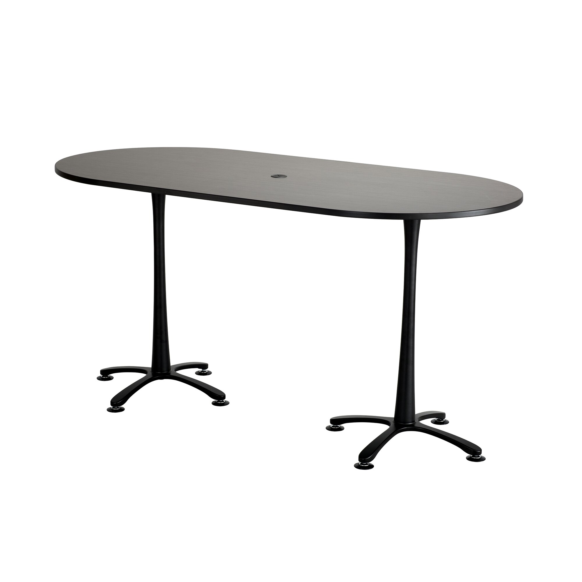 Oval conference table - Safco Products Company Cha Cha Oval Conference Table