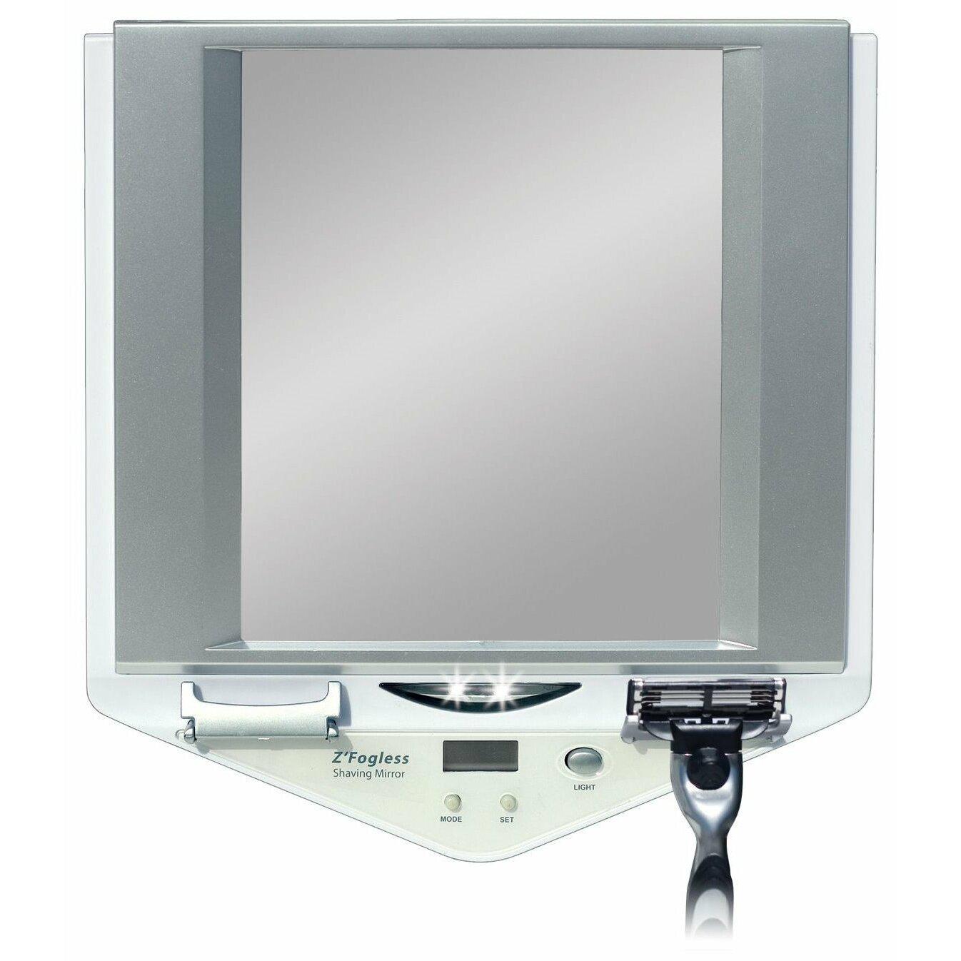 Zadro Z Fogless Lighted Shaving Mirror Amp Reviews Wayfair