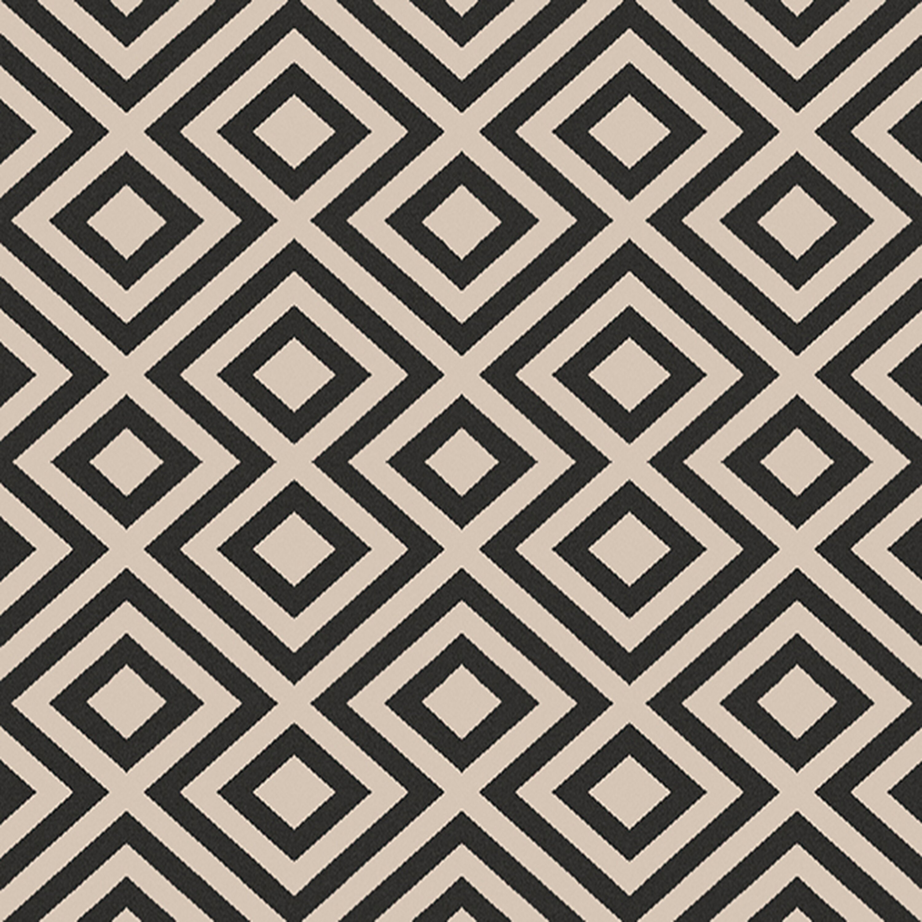 dwellstudio alfresco hand woven black beige outdoor area