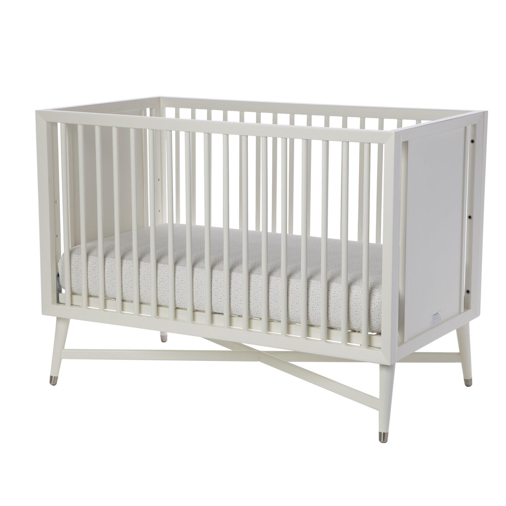 Baby crib for sale tulsa - Dwellstudio Mid Century 3 In 1 Convertible Crib