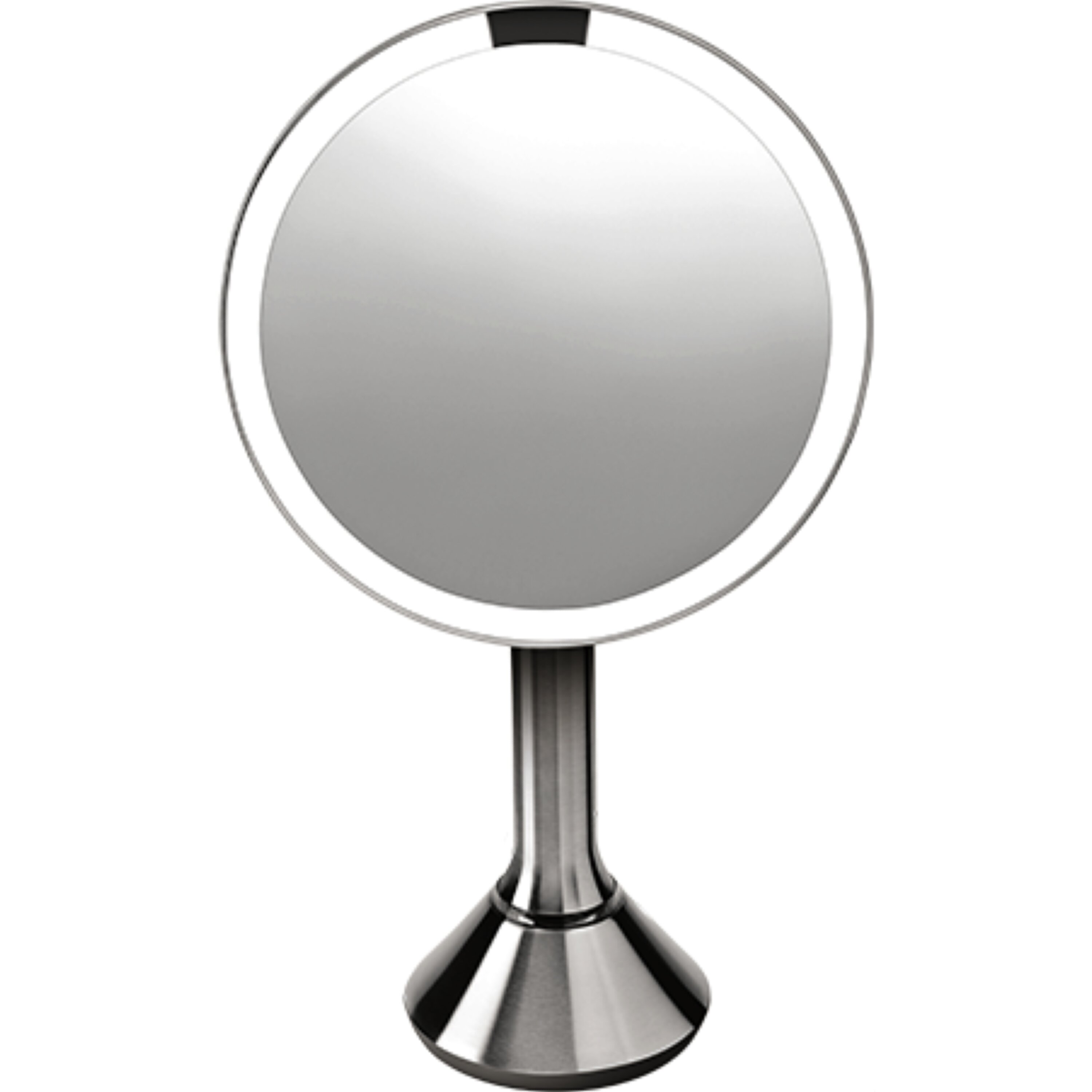 simplehuman Sensor Activated Lighted Vanity Mirror  5x Magnification  8 in. Sensor Activated Lighted Vanity Mirror  5x Magnification  8 in