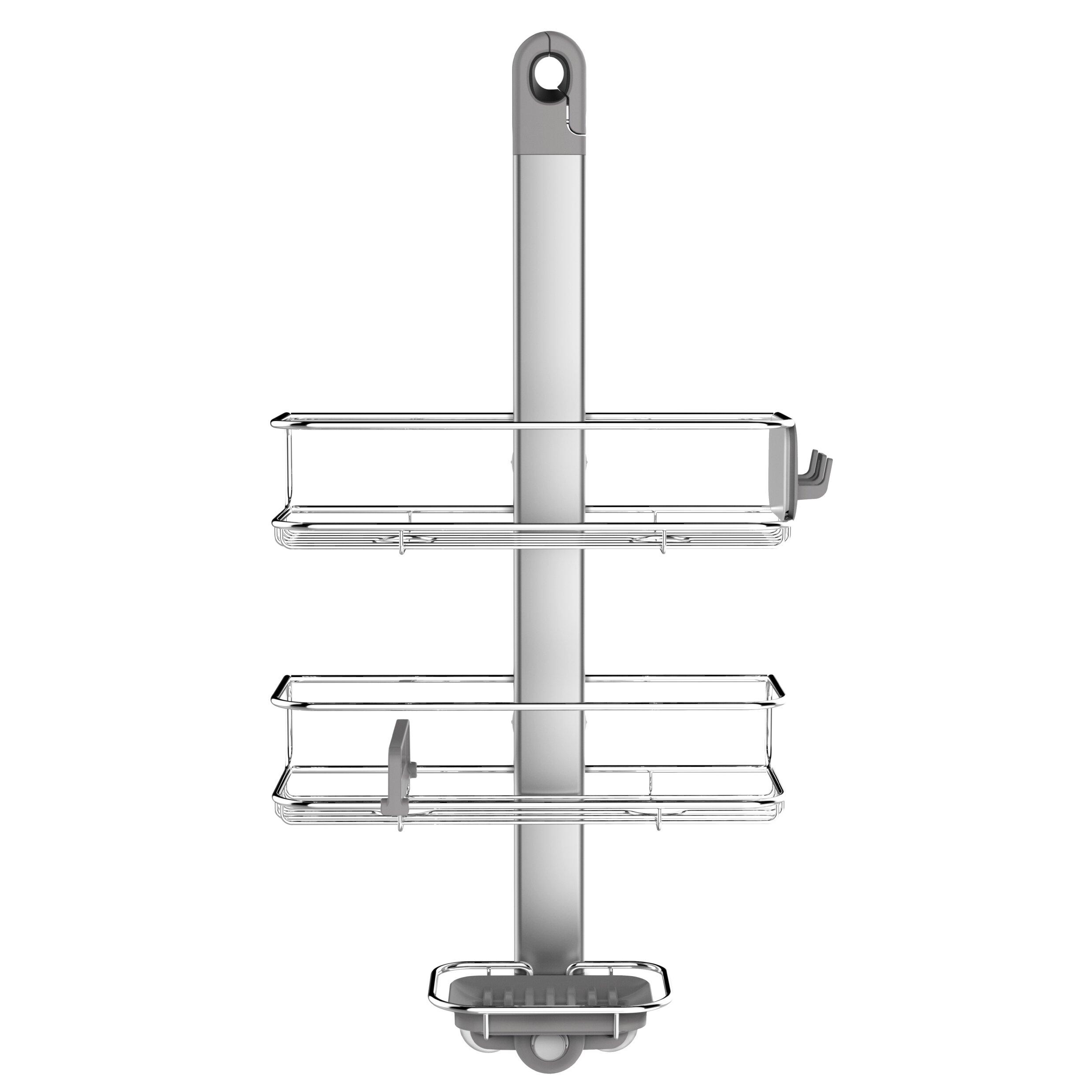 123 caddy gallery 03 123 caddy simplehuman corner tension rod caddy simplehuman corner tension rod shower
