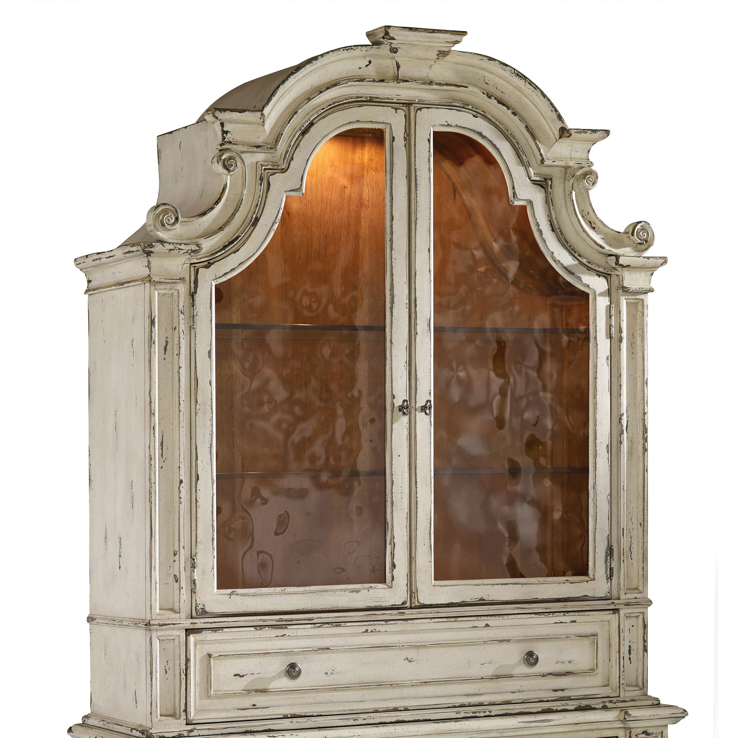 Paula Deen China Cabinet Hooker Furniture Sanctuary China Cabinet Hutch Reviews Wayfair