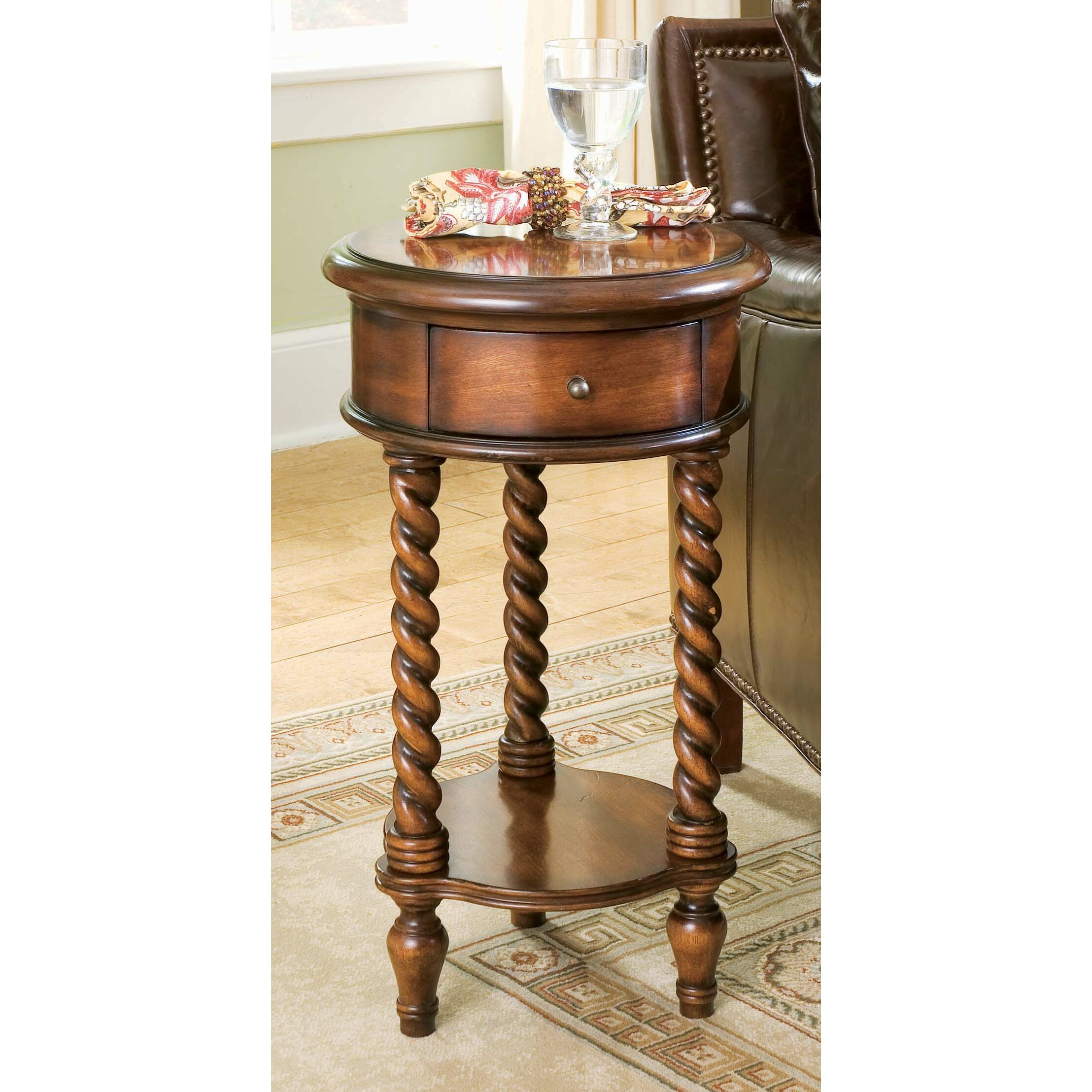 Hooker Furniture Seven Seas Inlay Top End Table & Reviews