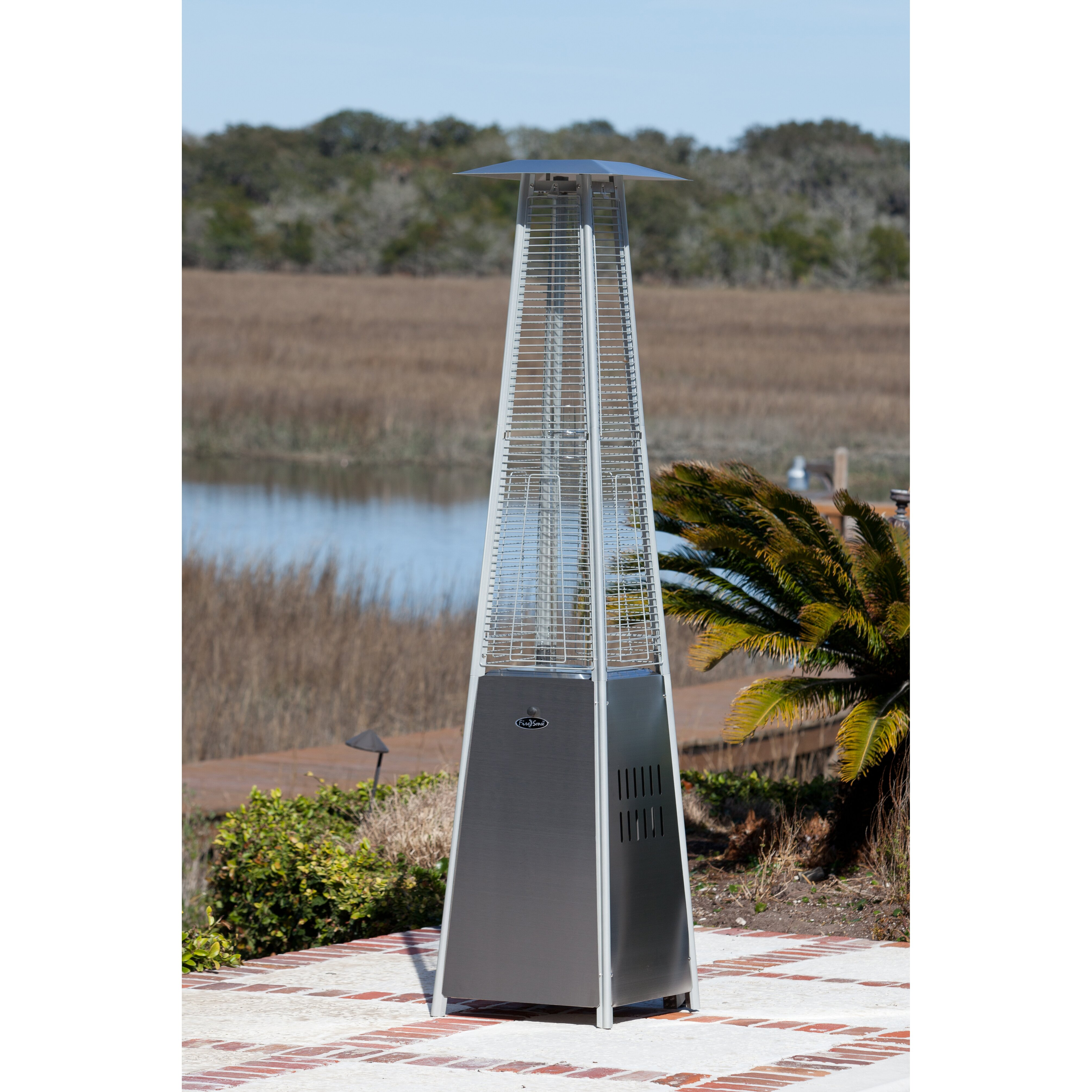 Fire Sense Pyramid Flame 40000 BTU Propane Patio Heater Reviews – Fire Sense Patio Heater