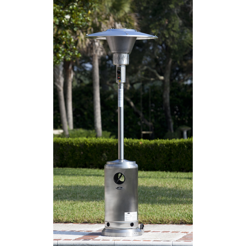 Elegance Stainless Steel Patio Heater Icamblog