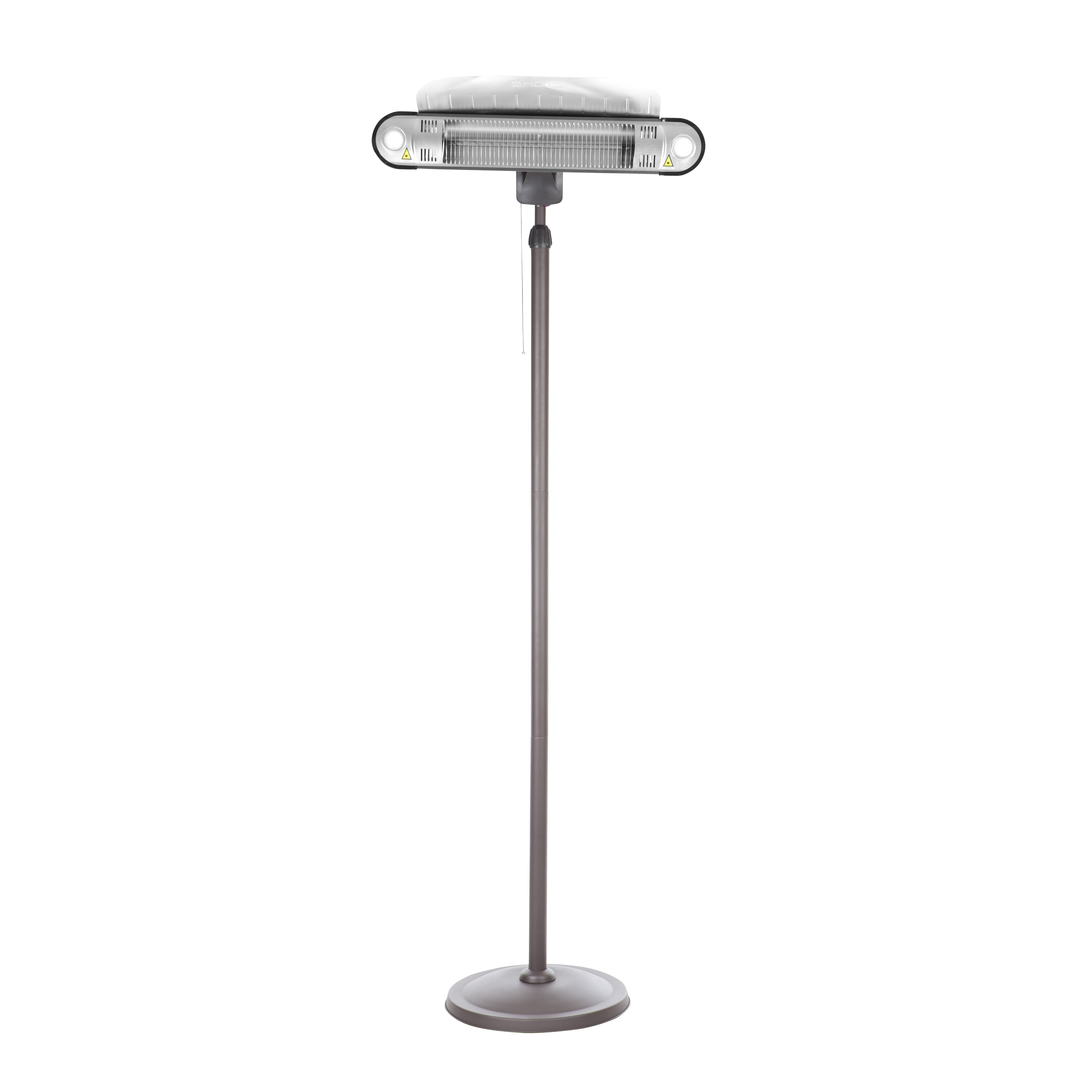 Fire Sense Alta Halogen 1500 Watt Electric Patio Heater – Fire Sense Patio Heater