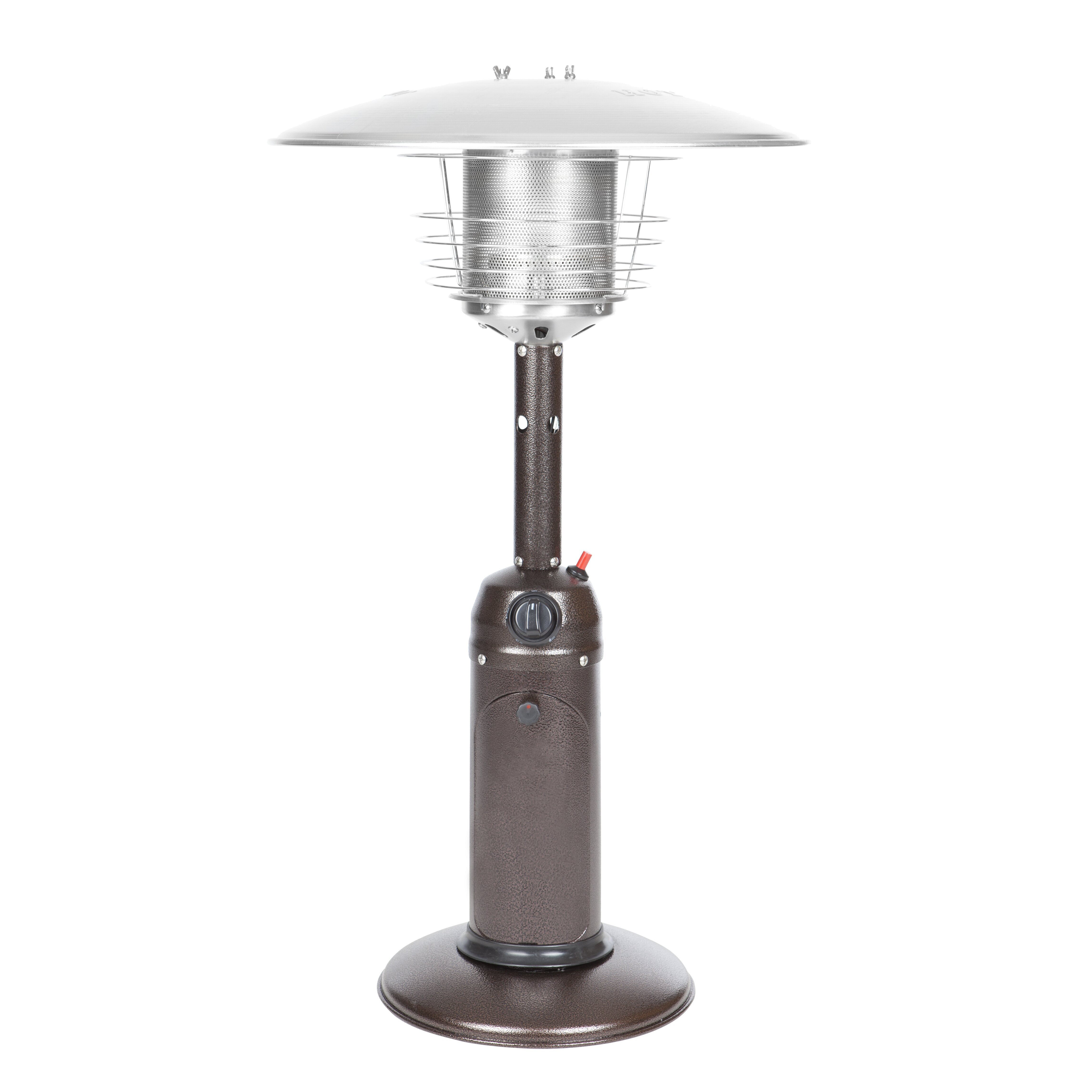 patio napoleon steel heaters rent stainless new for tabletop luxury of reviews image heater