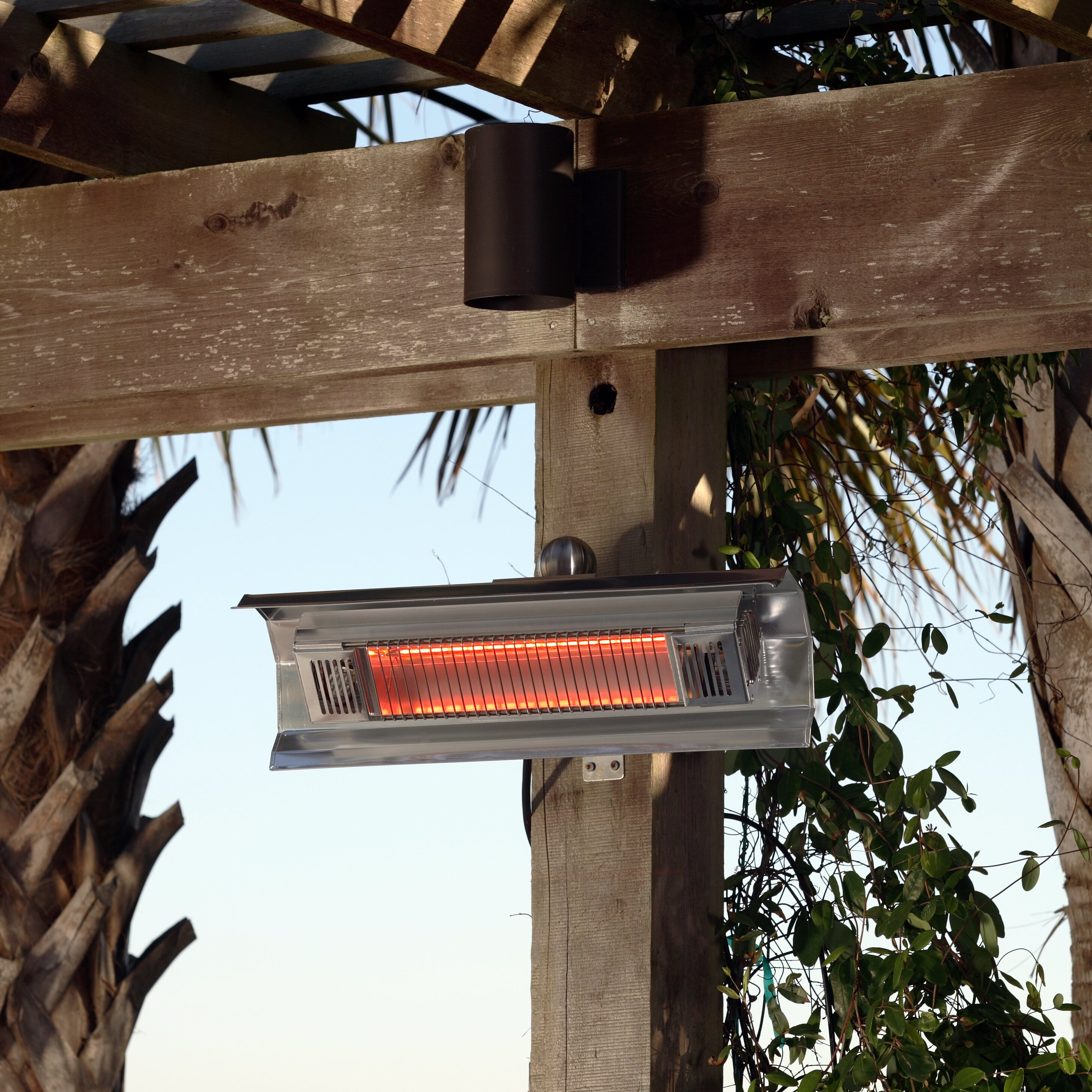 Fire Sense 1500 Watt Electric Mounted Patio Heater Reviews – Fire Sense Patio Heater