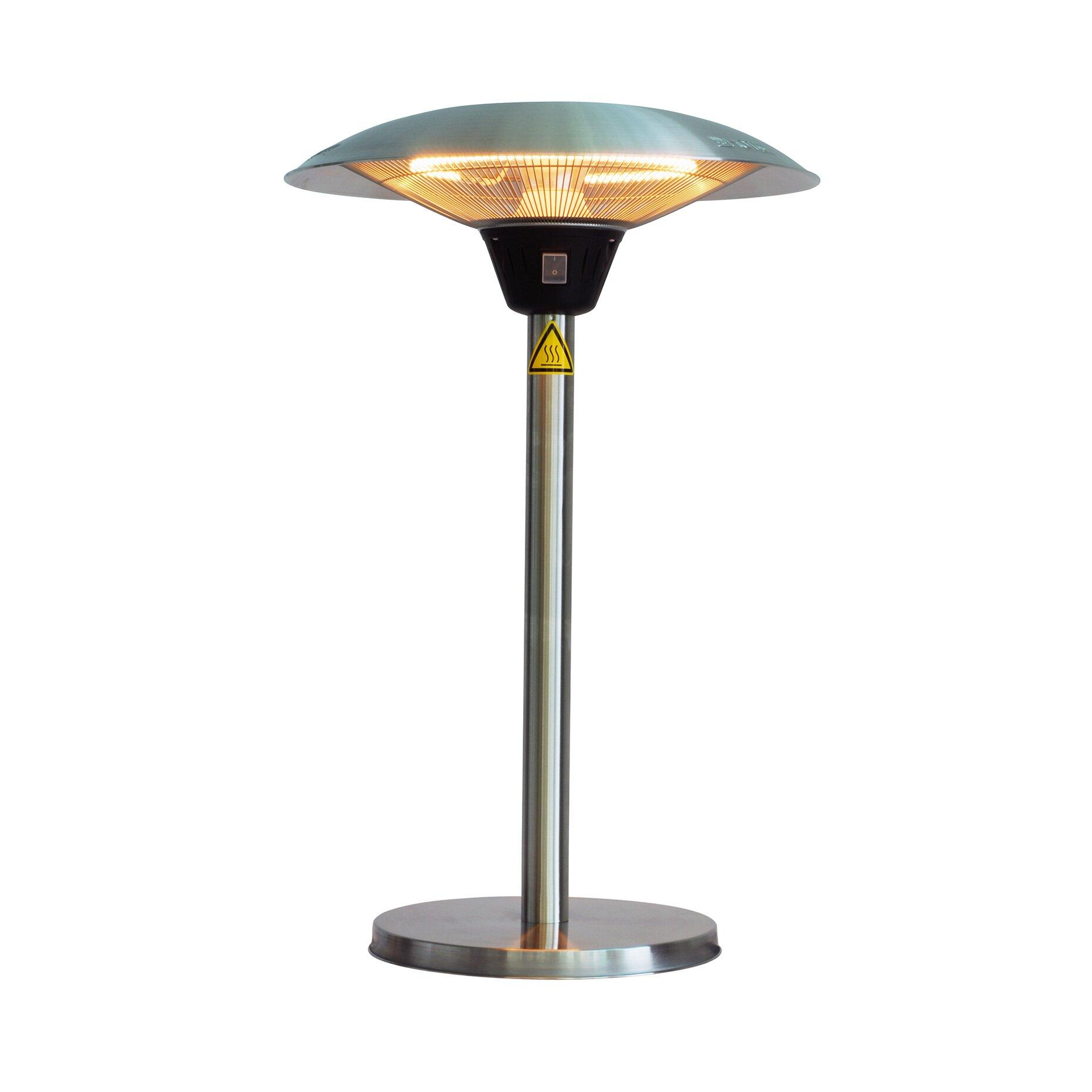 fire sense cimarron halogen 1500 watt electric tabletop