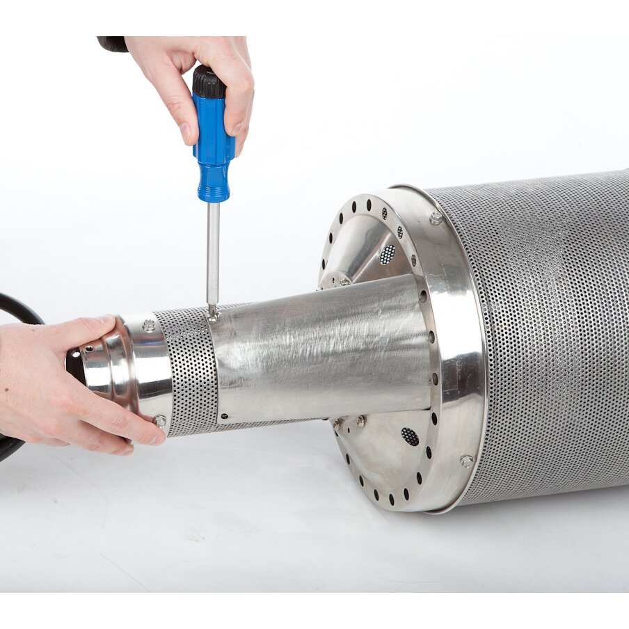 Fire Sense Stainless Steel Pro Series 46 000 BTU Propane Patio Heater R