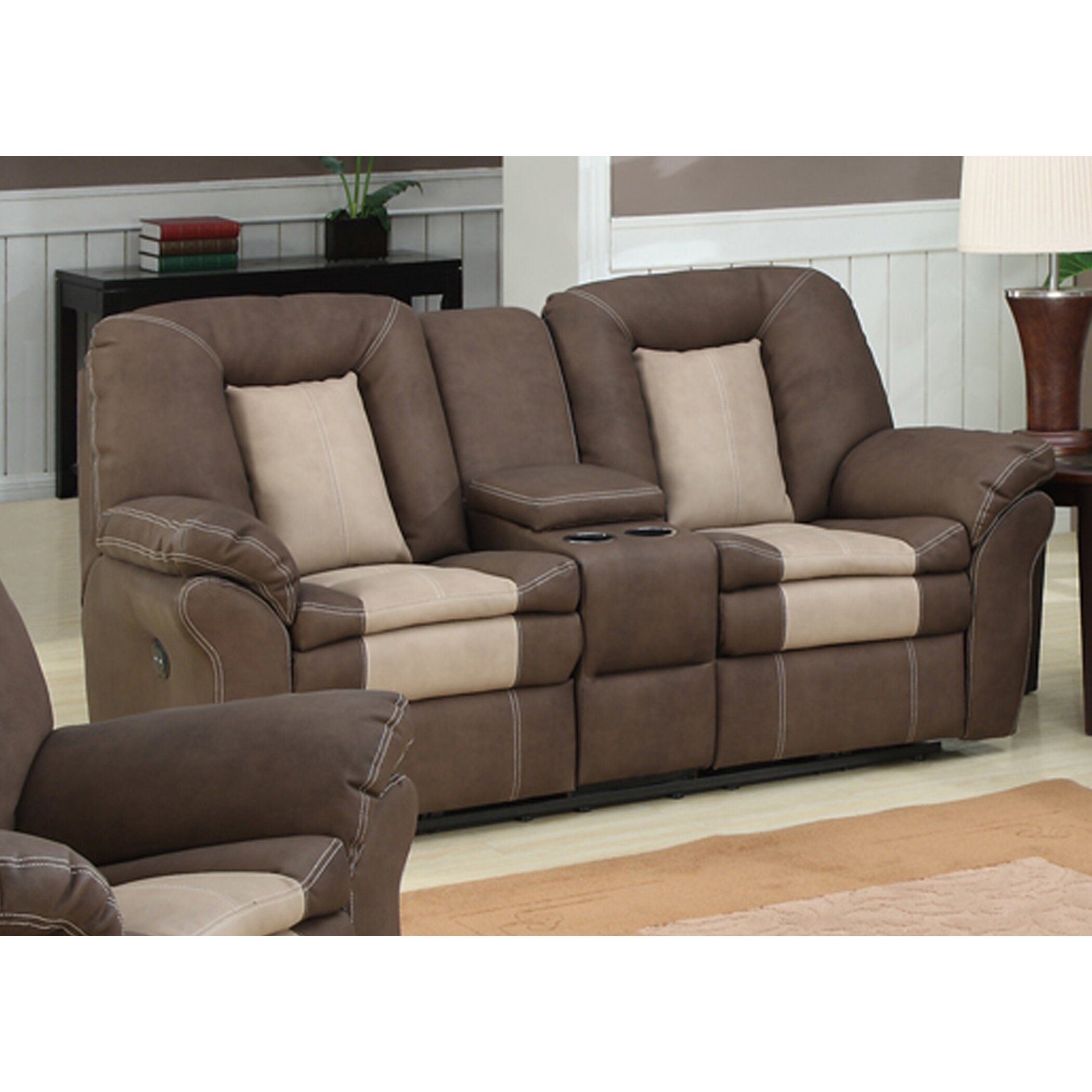 ac pacific carson 3 piece living room set & reviews | wayfair