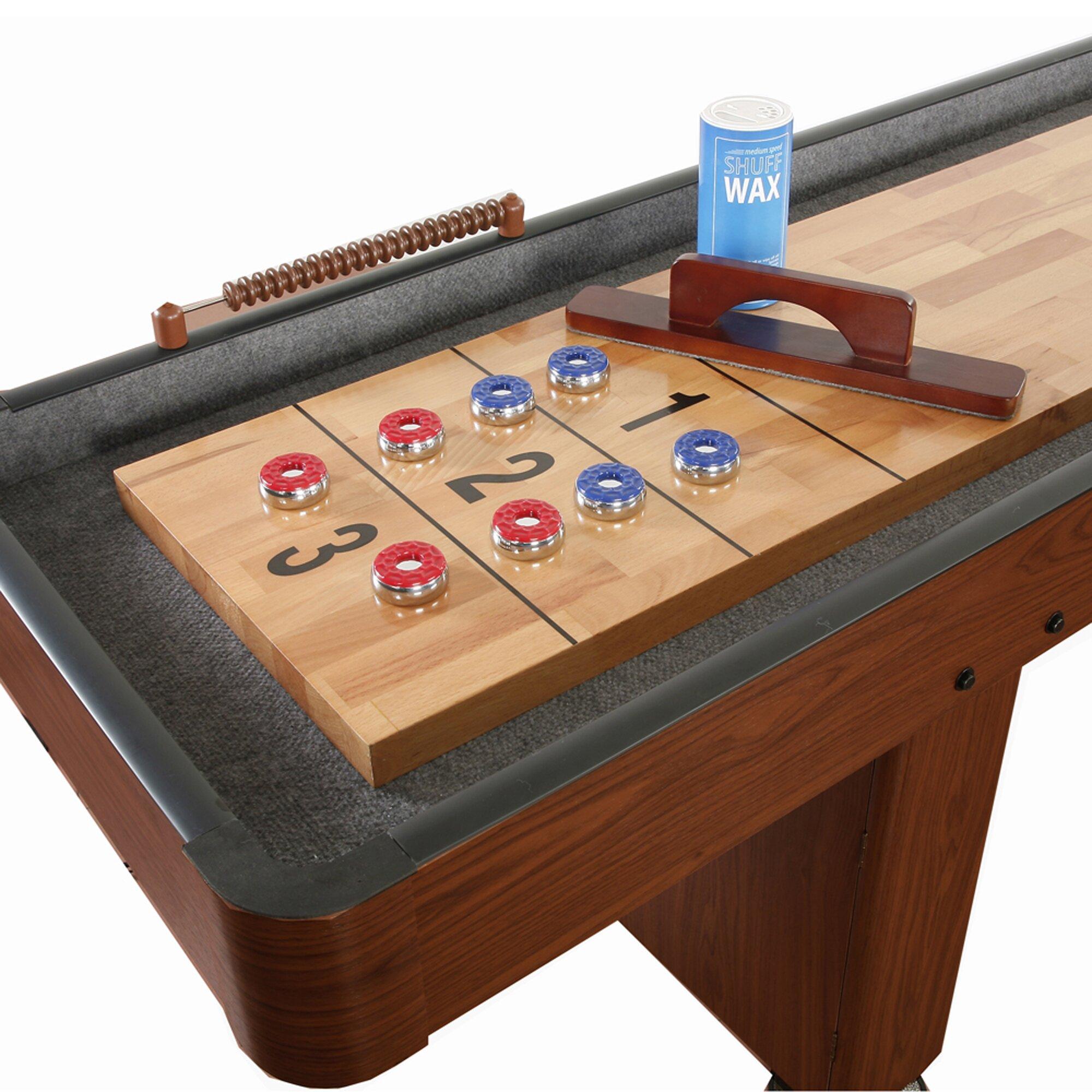 Hathaway Games Shuffleboard Table Amp Reviews Wayfair