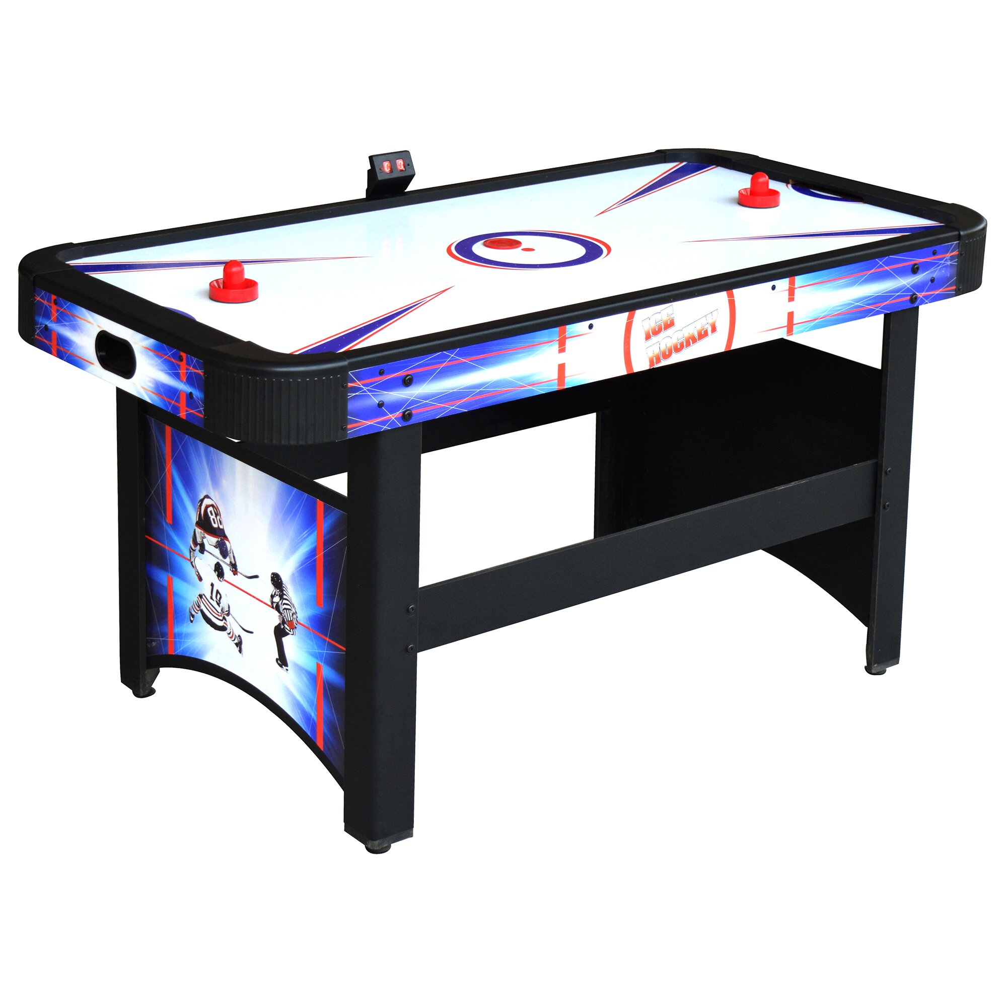 Hathaway Games Patriot 5' Air Hockey Table & Reviews  Wayfair. Awesome Office Desk. Altra Chadwick Collection Corner Desk. Storage Drawers On Wheels. Exercise At Work Desk. Discount End Tables. 36 Desk. Ashley Furniture Side Tables. Gray Computer Desk