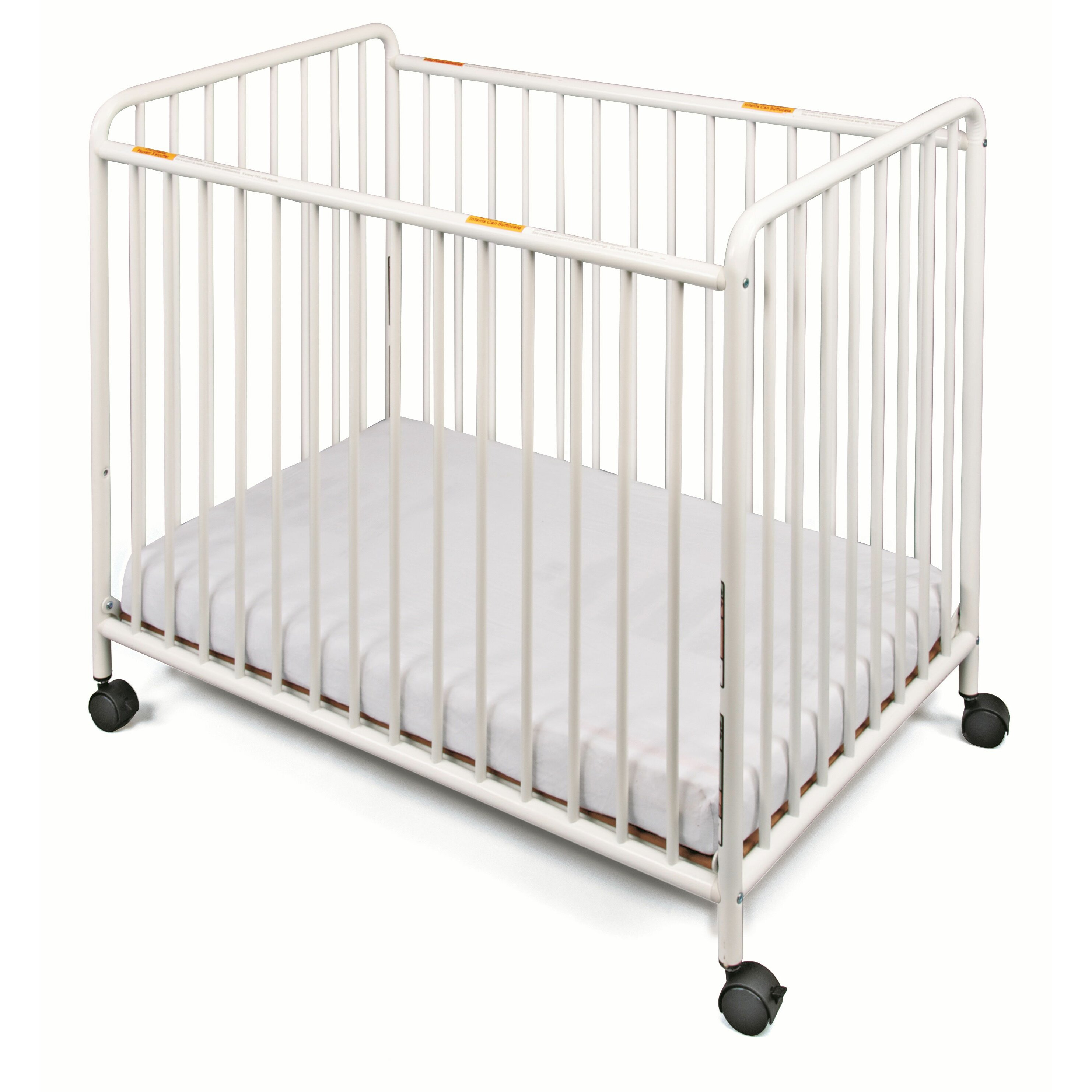 Graco crib for sale manila - Chelsea Slatted Compact Steel Non Folding Convertible Crib With Mattress