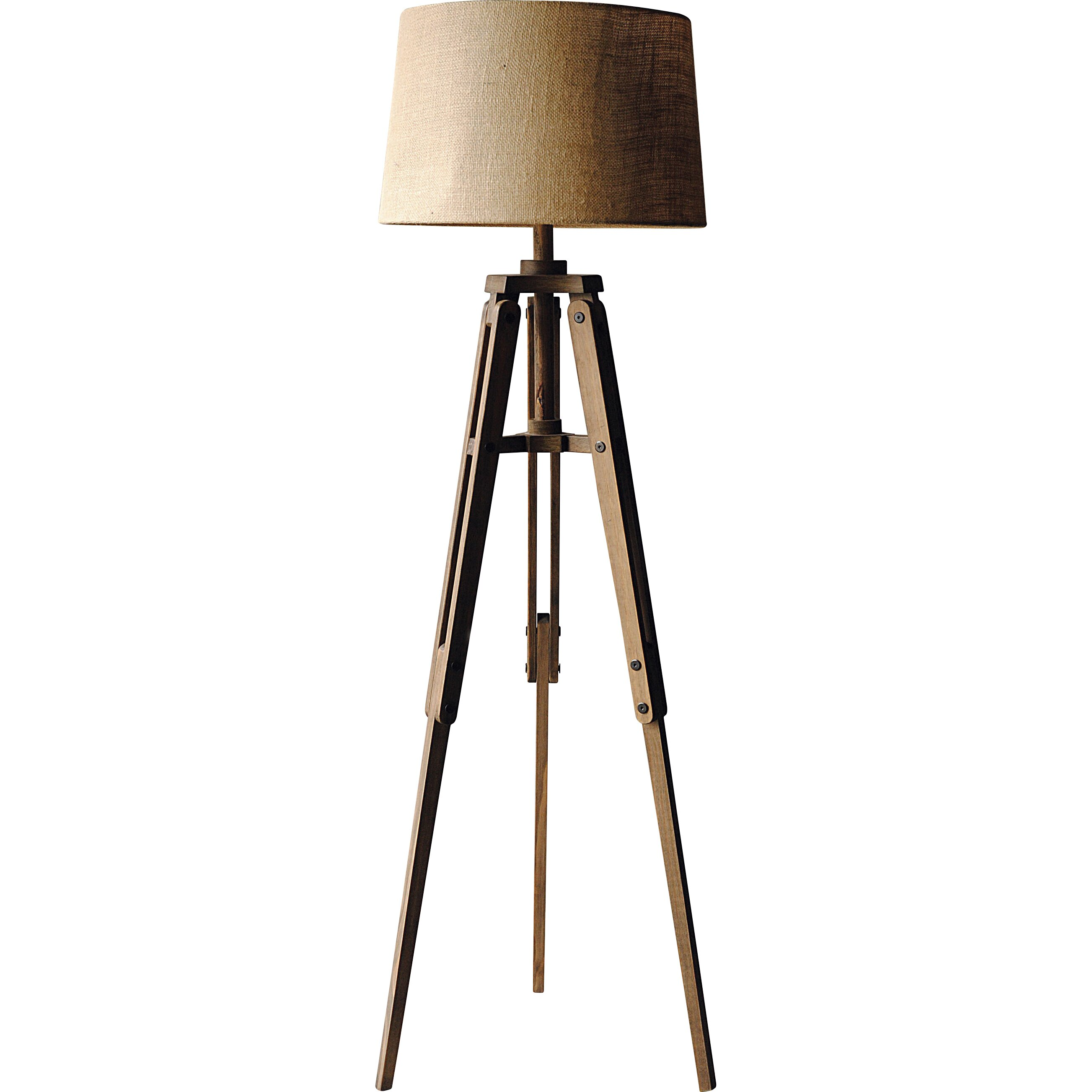 "Creative Co-Op Turn of the Century 62.25"" Tripod Floor Lamp & Reviews 