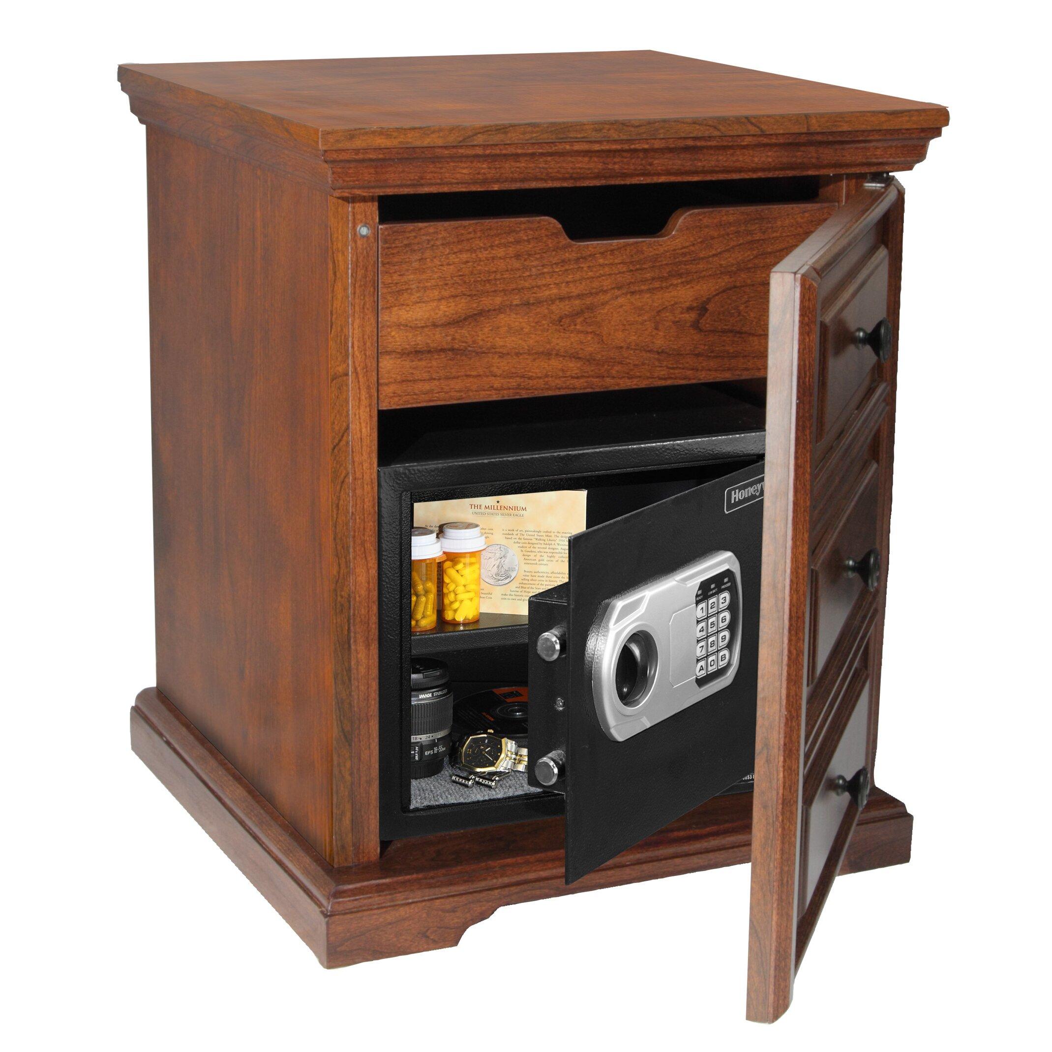 Woodmark Gun Cabinet Honeywell Steel Security Safe In Decorative Cabinet 083 Cuft