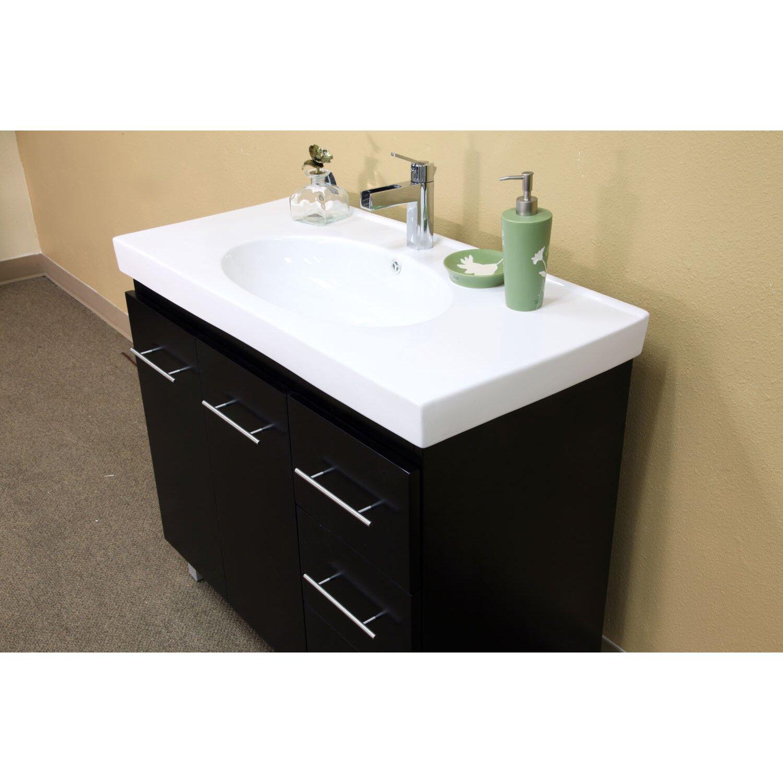 39 Bathroom Vanity Bellaterra Home Payne 39 Single Bathroom Vanity Set Reviews