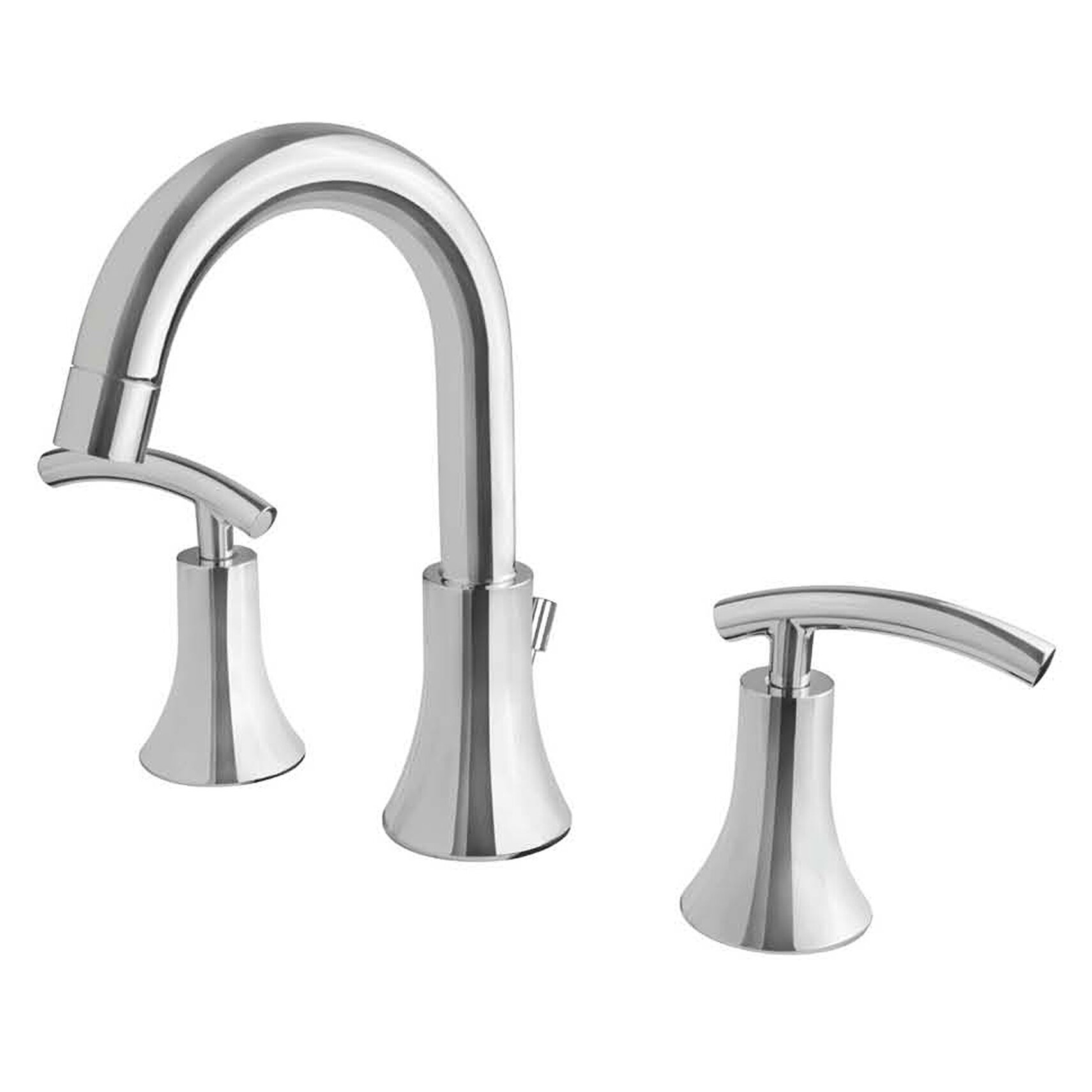 Ultra Faucets Contemporary Double Handle Widespread ...