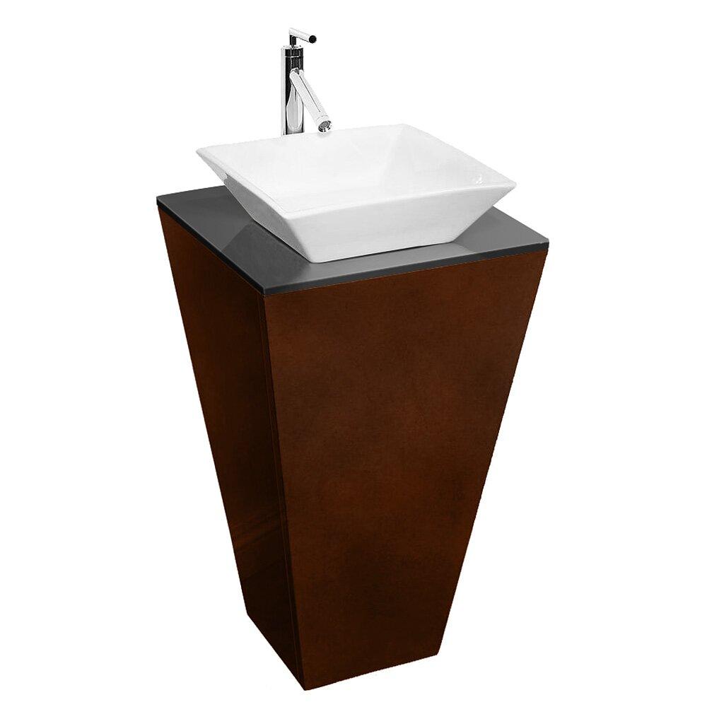 Wyndham Collection Esprit 20 1 Quot Single Pedestal Bathroom